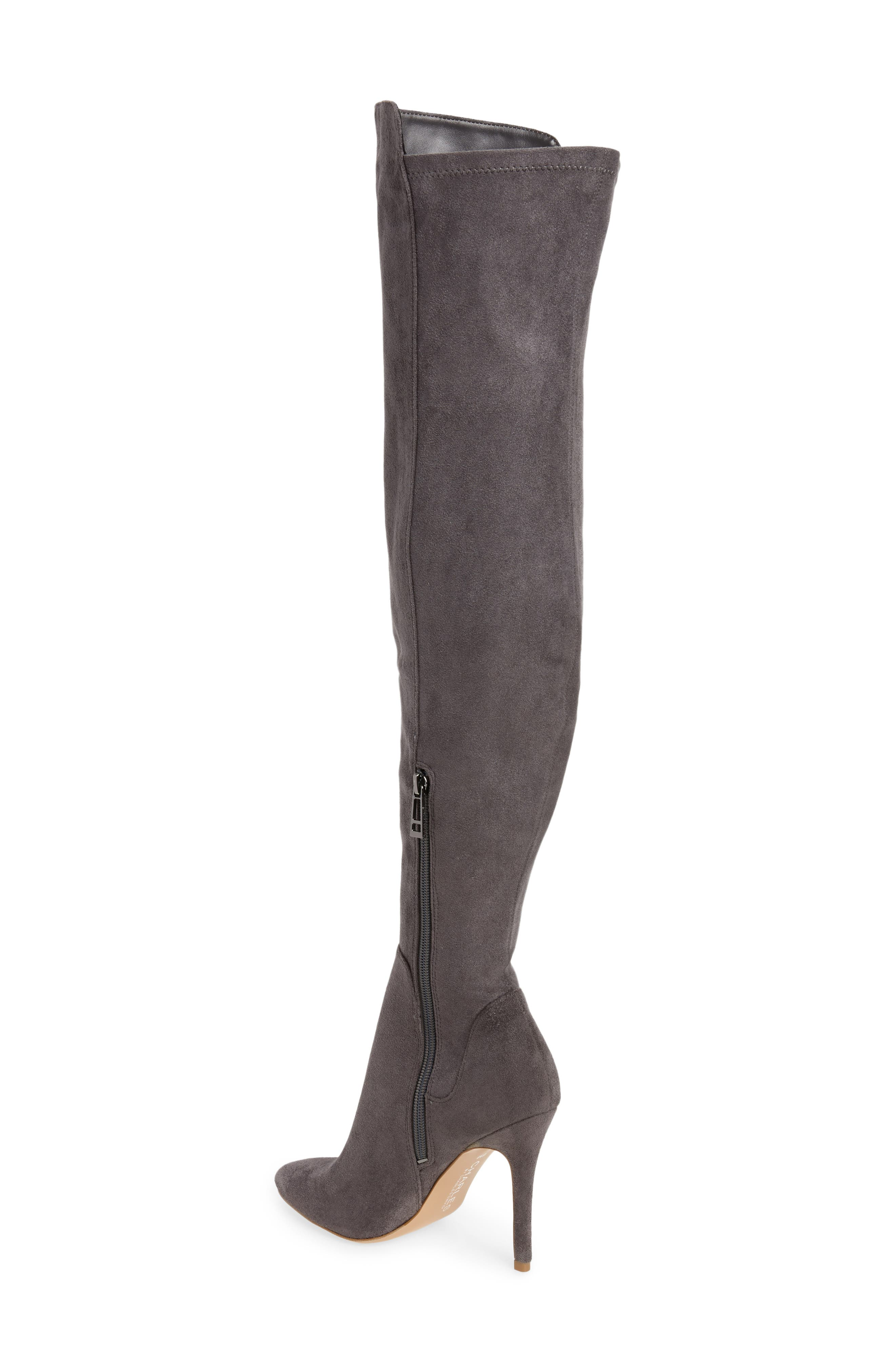 Perfect Over the Knee Boot,                             Alternate thumbnail 4, color,
