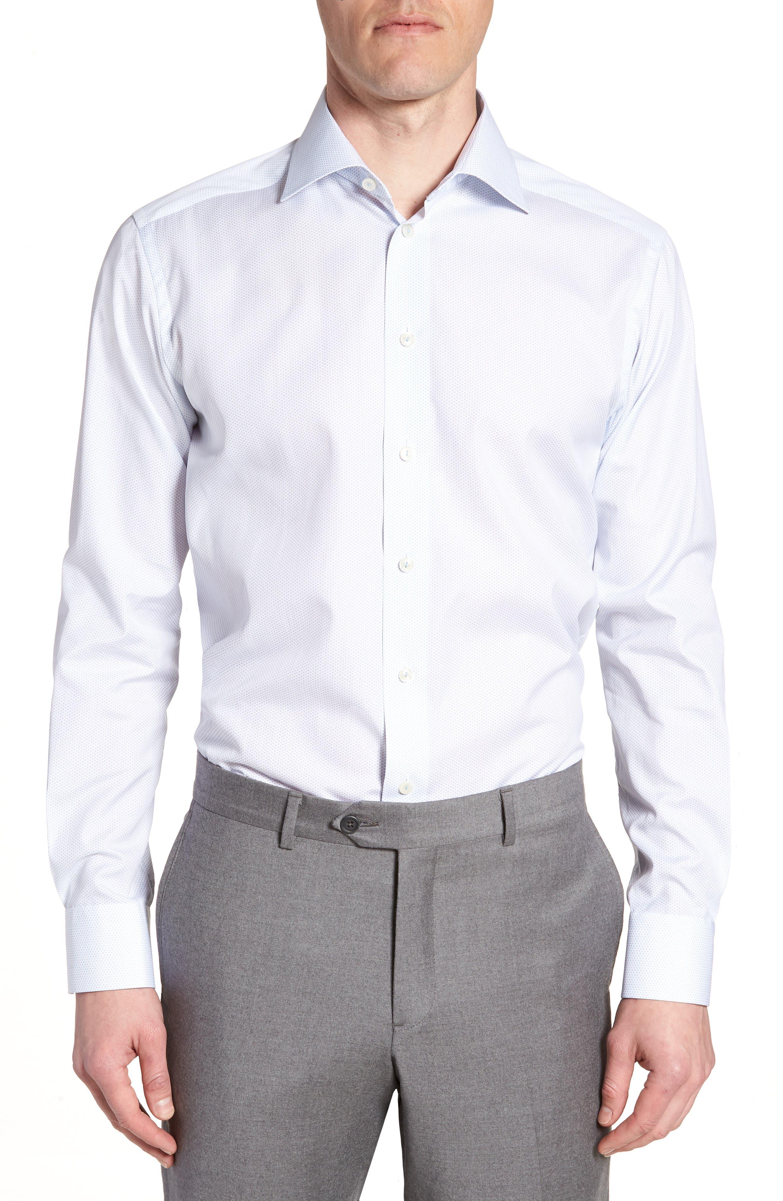 Contemporary Fit Print Dress Shirt,                         Main,                         color,