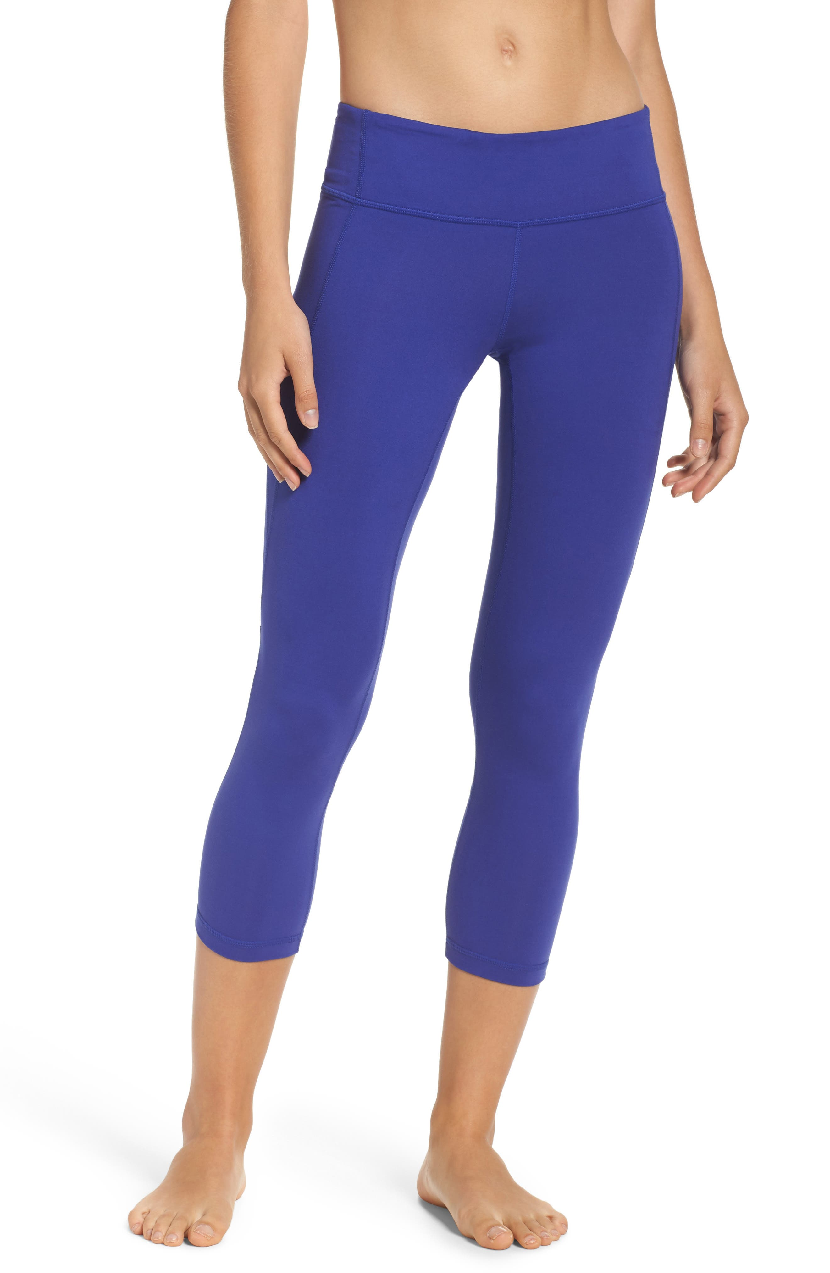 Live-In Keep It Cool Crop Leggings,                             Main thumbnail 7, color,