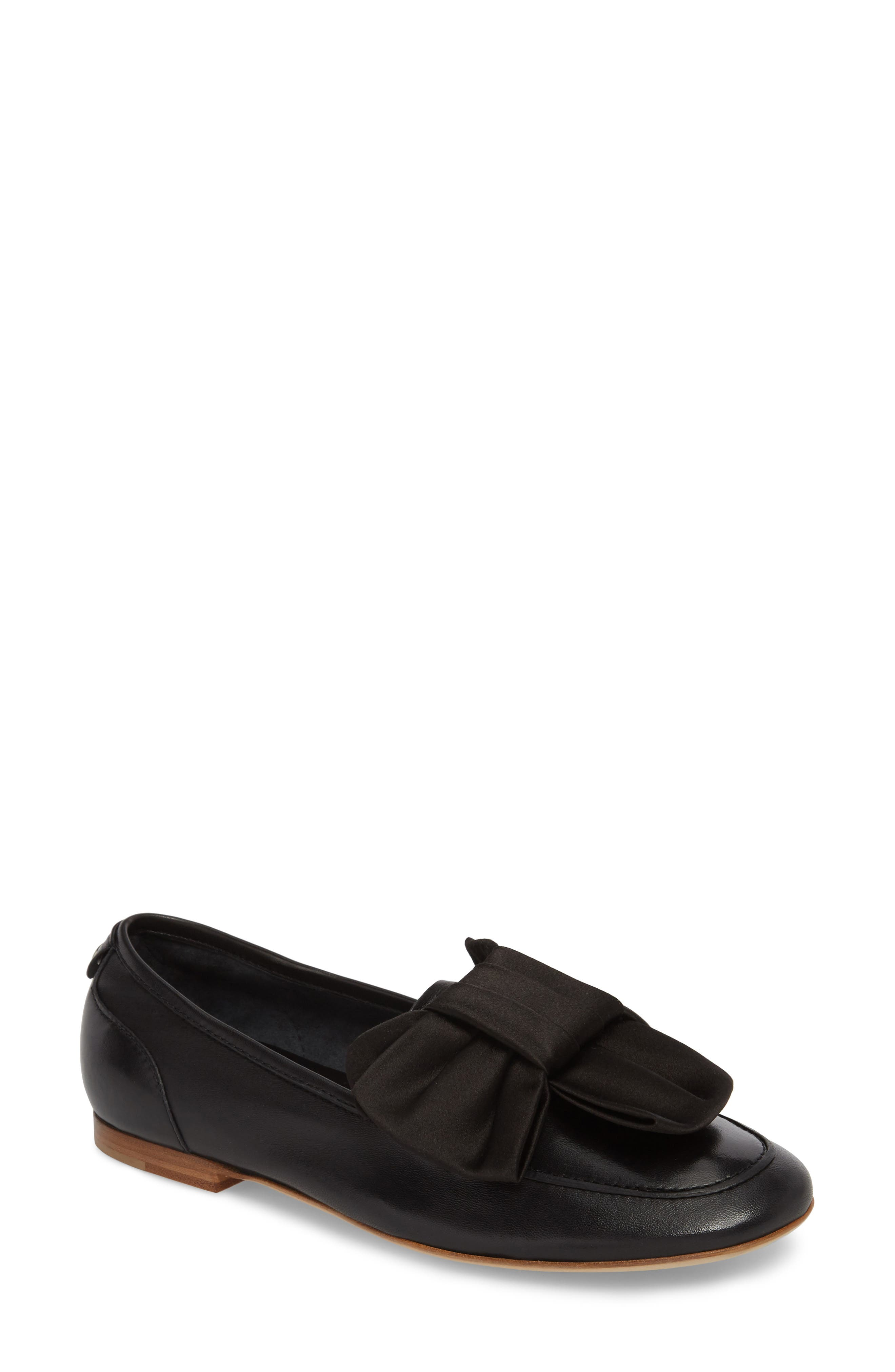 Bow Loafer,                             Main thumbnail 1, color,                             001