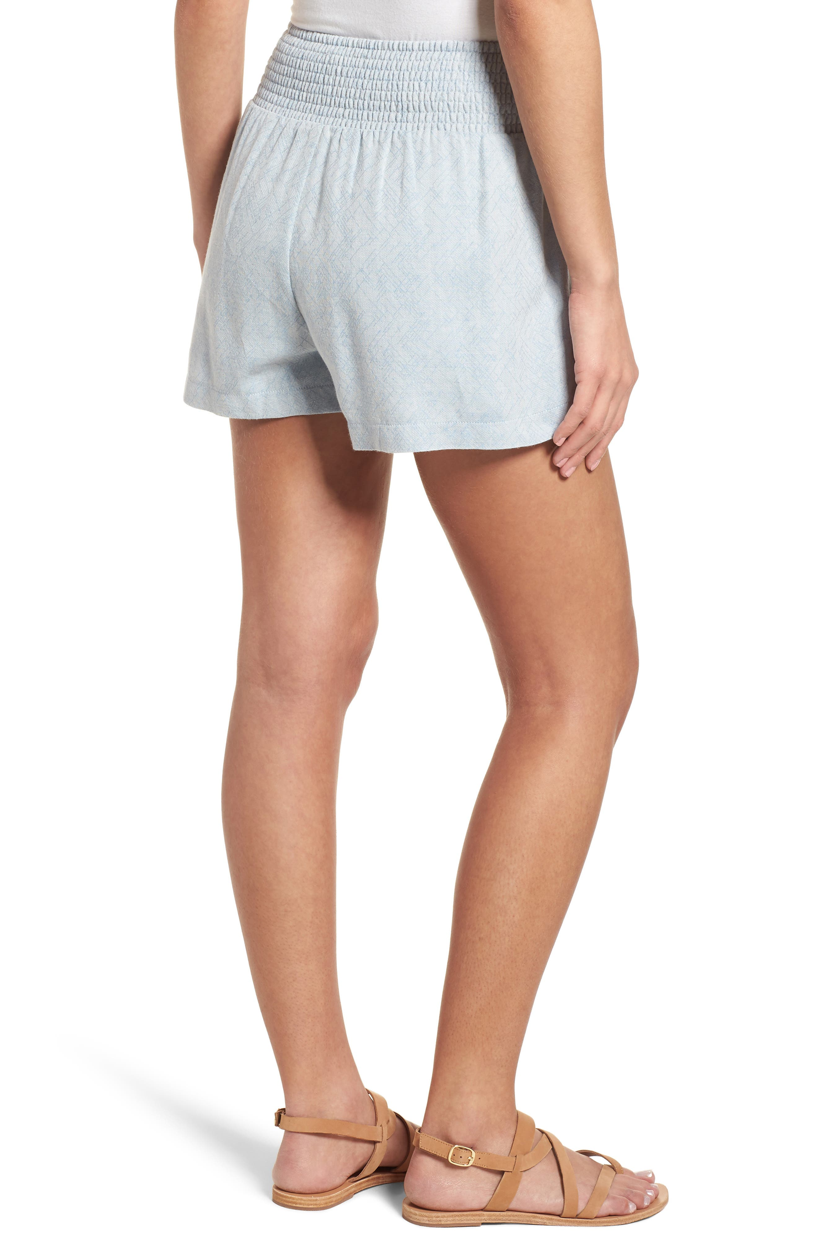 Knotted Jacquard Shorts,                             Alternate thumbnail 2, color,