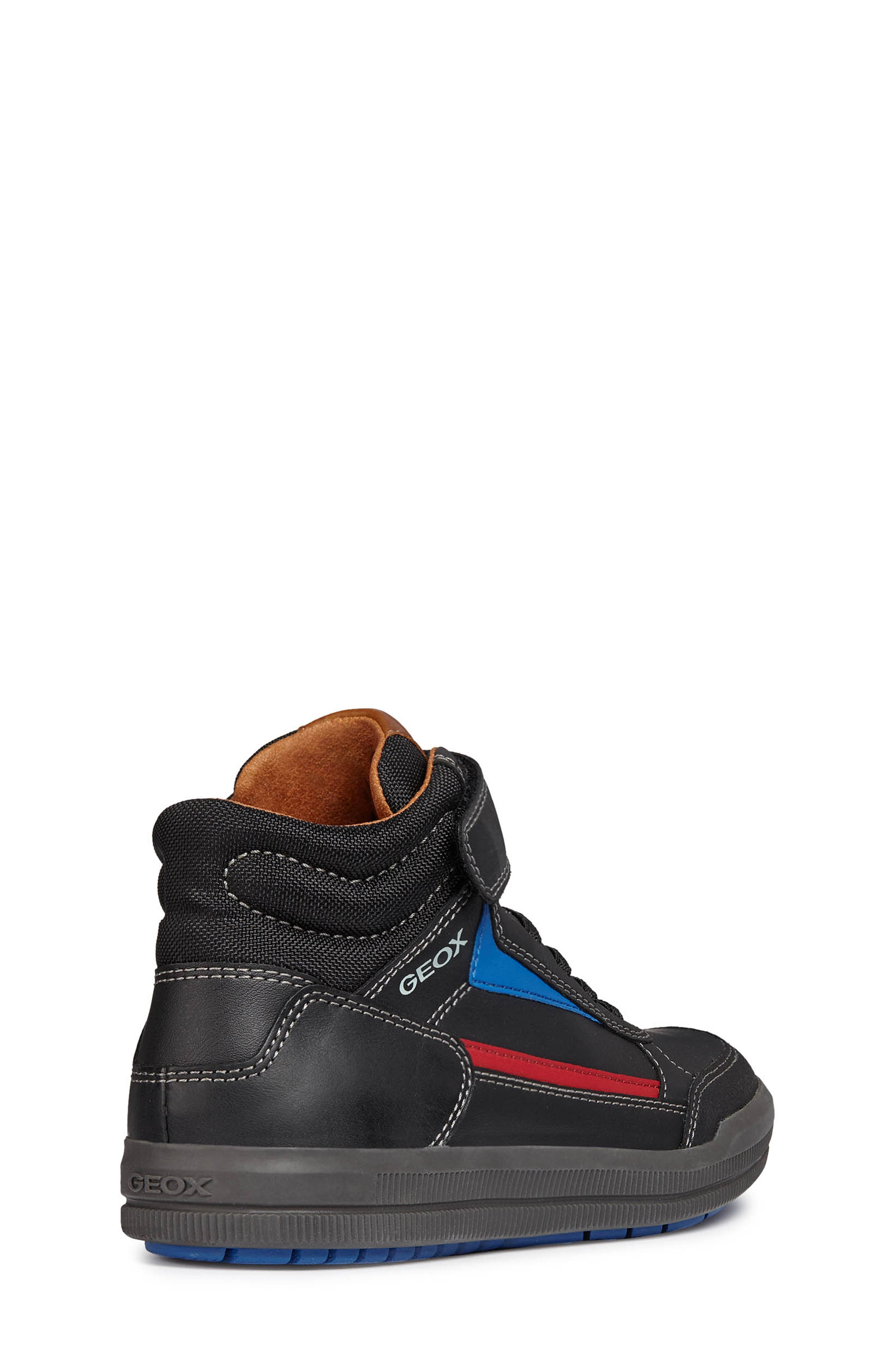 Arzach Mid Top Sneaker,                             Alternate thumbnail 6, color,                             BLACK/RED