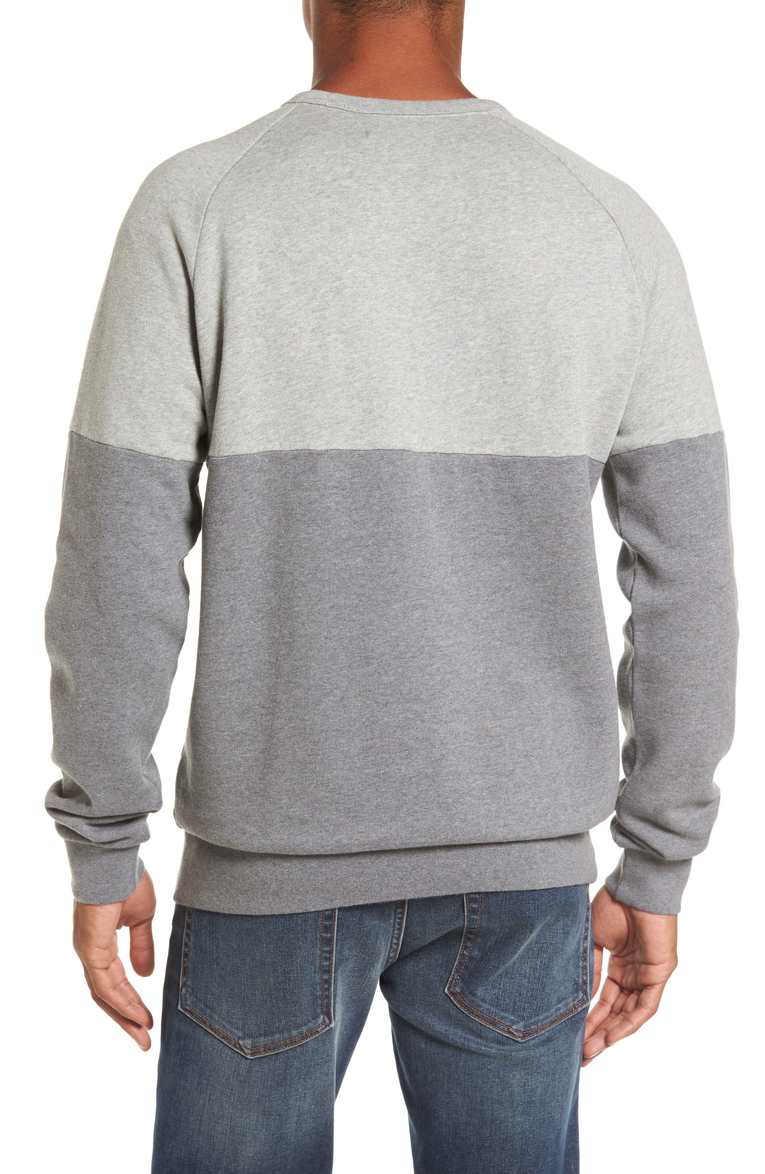 Multi Mélange Colorblock Sweatshirt,                             Alternate thumbnail 2, color,                             033