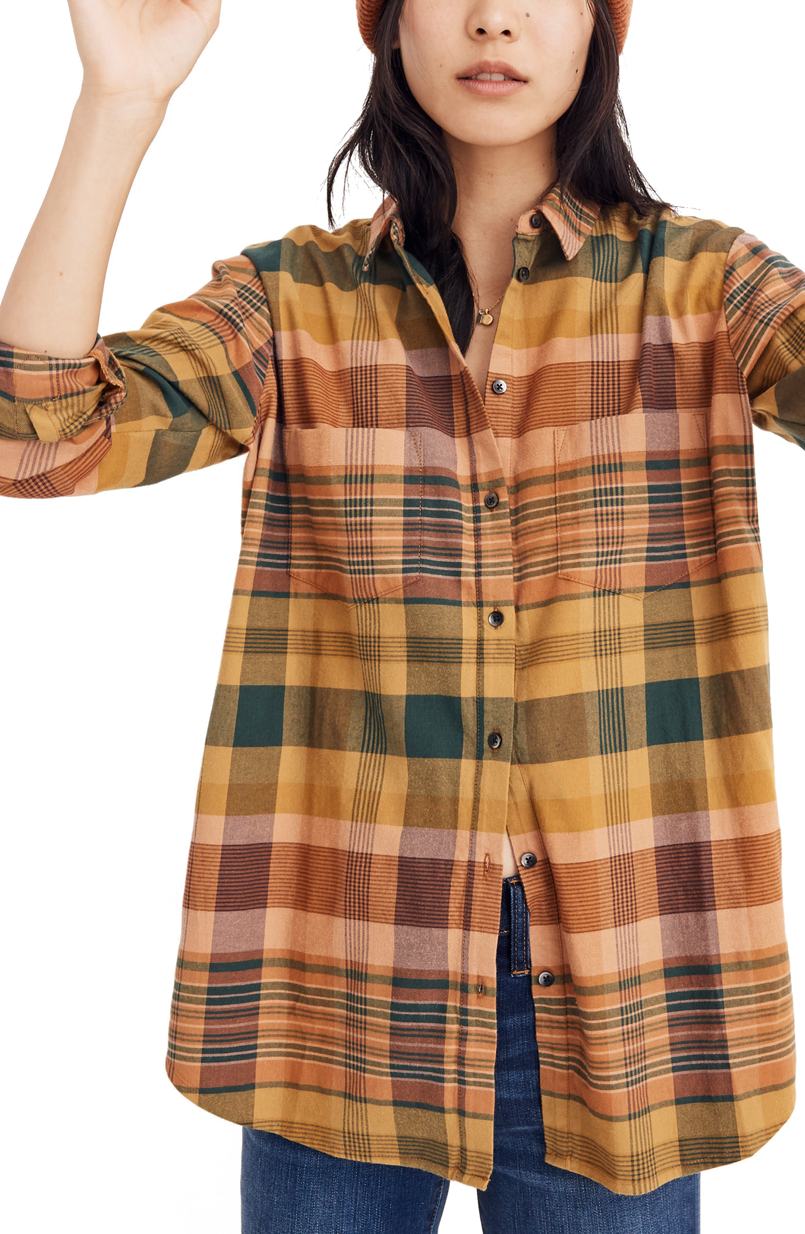 Madewell Seconda Plaid Sunday Flannel Shirt