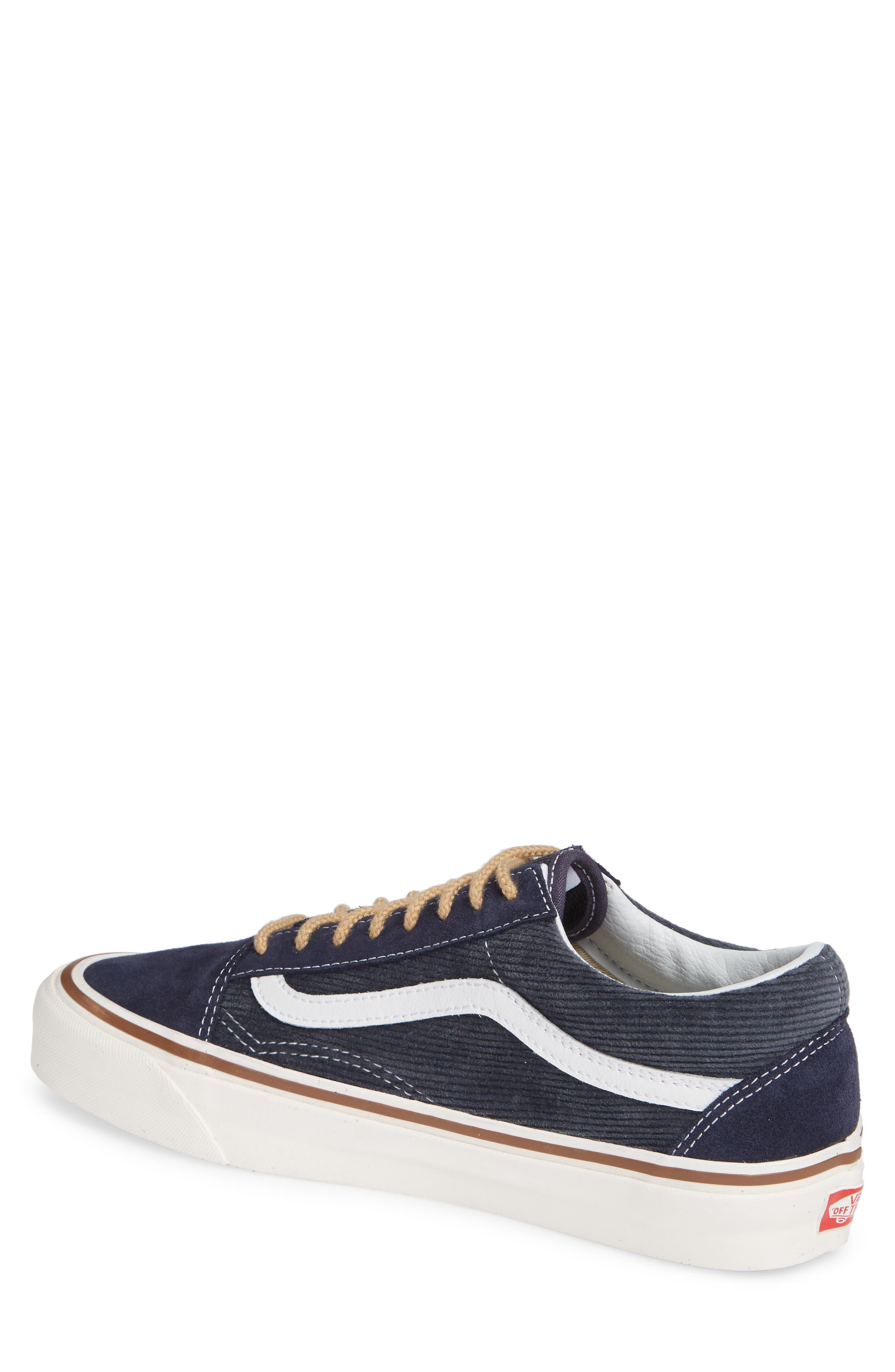 Anaheim Factory Old Skool 36 DX Sneaker,                             Alternate thumbnail 2, color,                             NAVY/ SUEDE/ CORDUROY