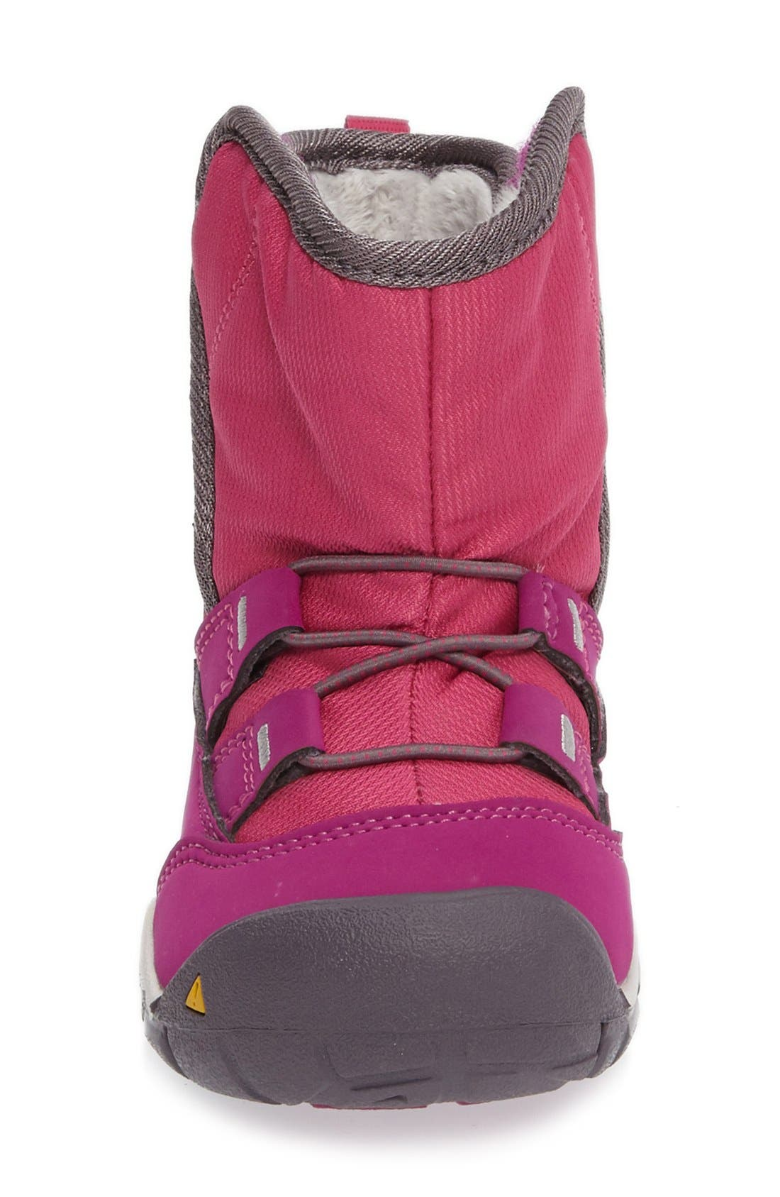 Peek-A-Boot Fleece Lined Boot,                             Alternate thumbnail 16, color,