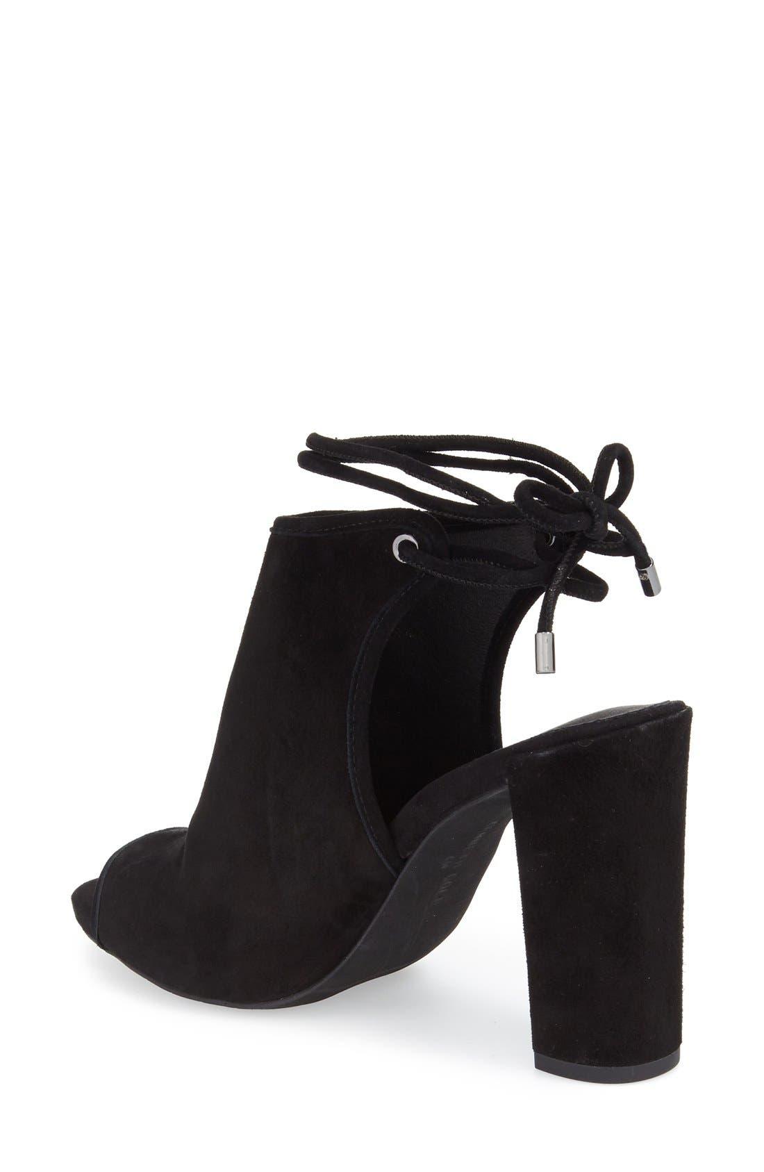Darla Block Heel Sandal,                             Alternate thumbnail 2, color,                             001