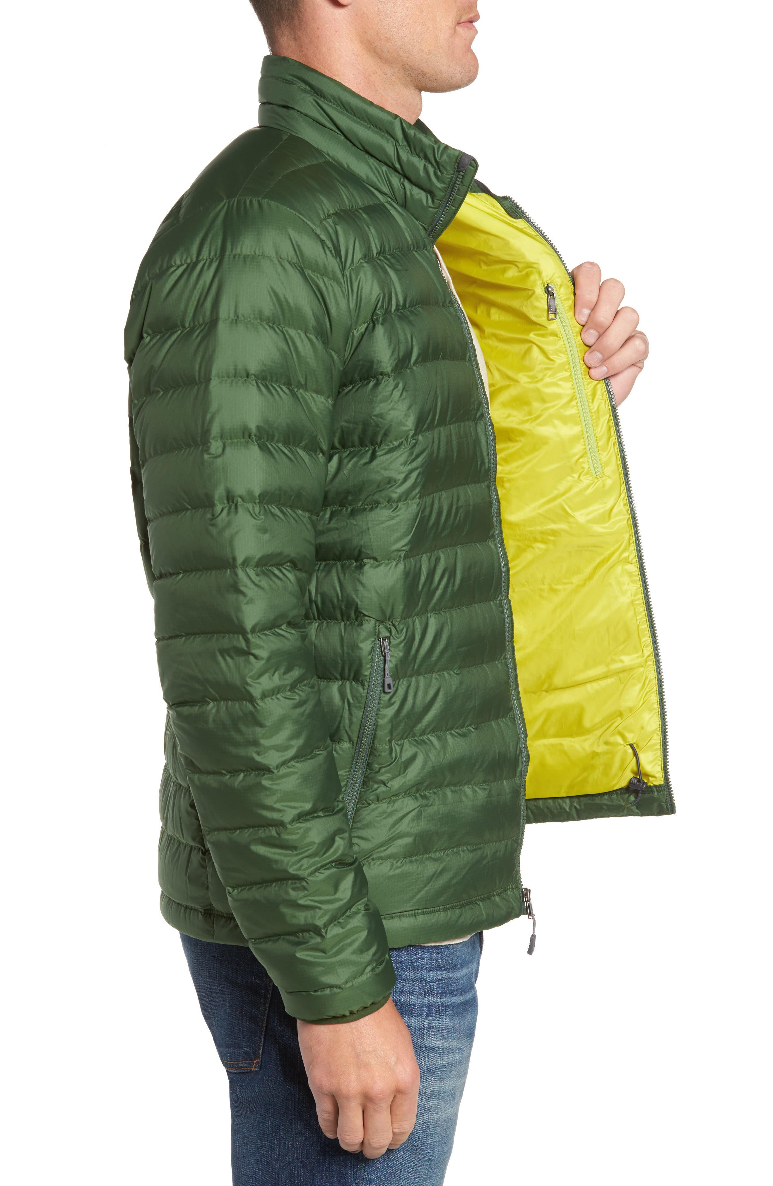 Water Repellent Down Jacket,                             Alternate thumbnail 43, color,