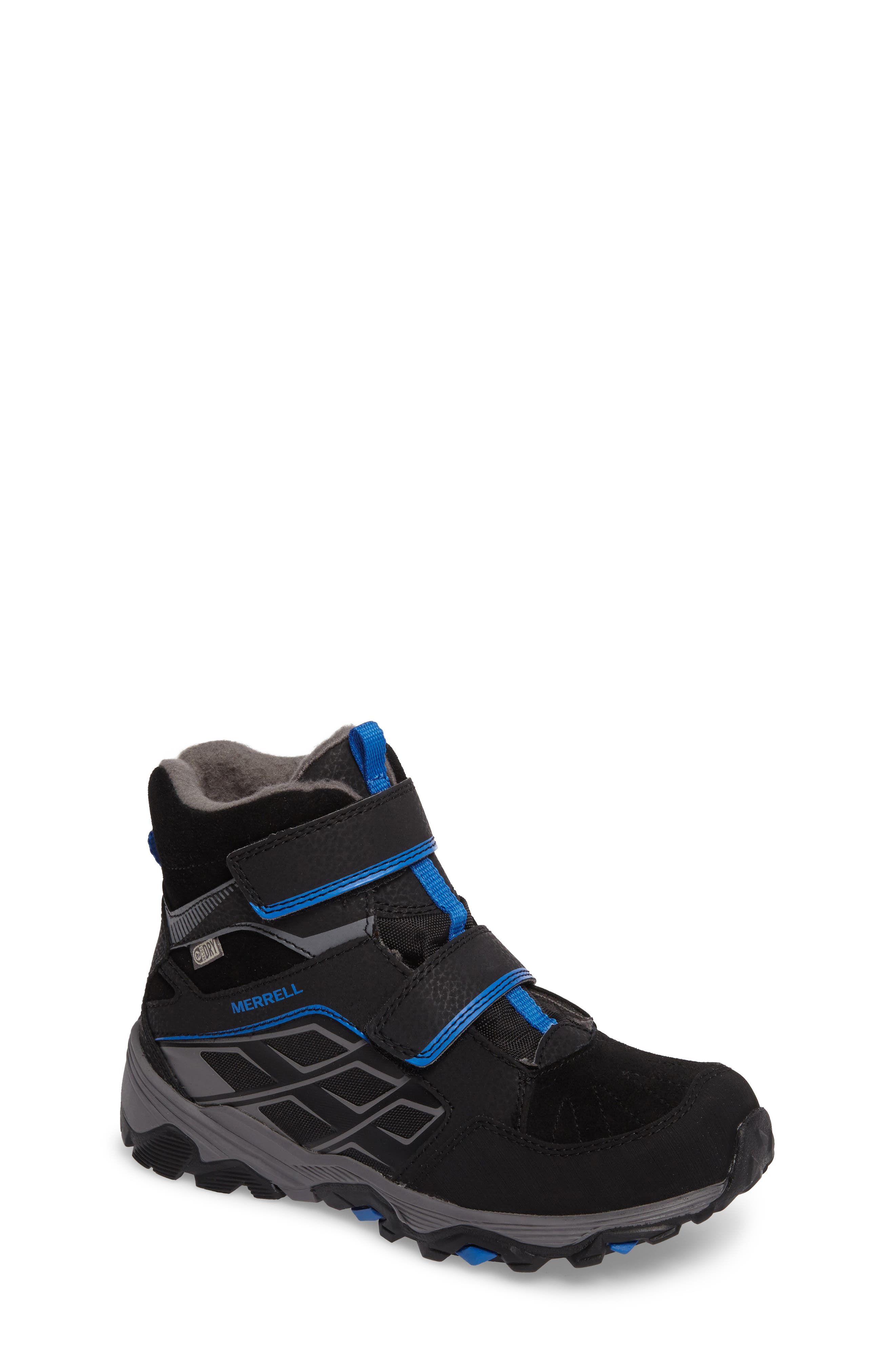 Moab FST Polar Mid Waterproof Boot,                         Main,                         color,