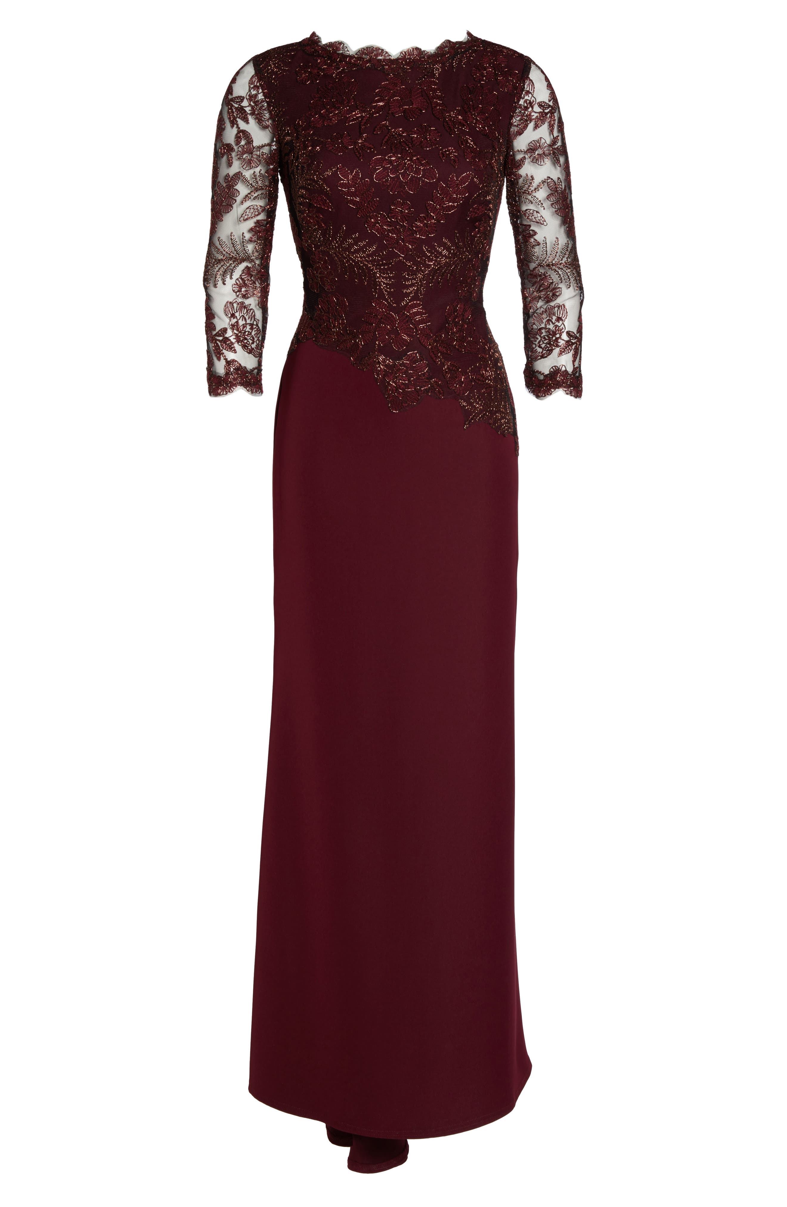 Embroidered Woven Gown,                             Alternate thumbnail 11, color,