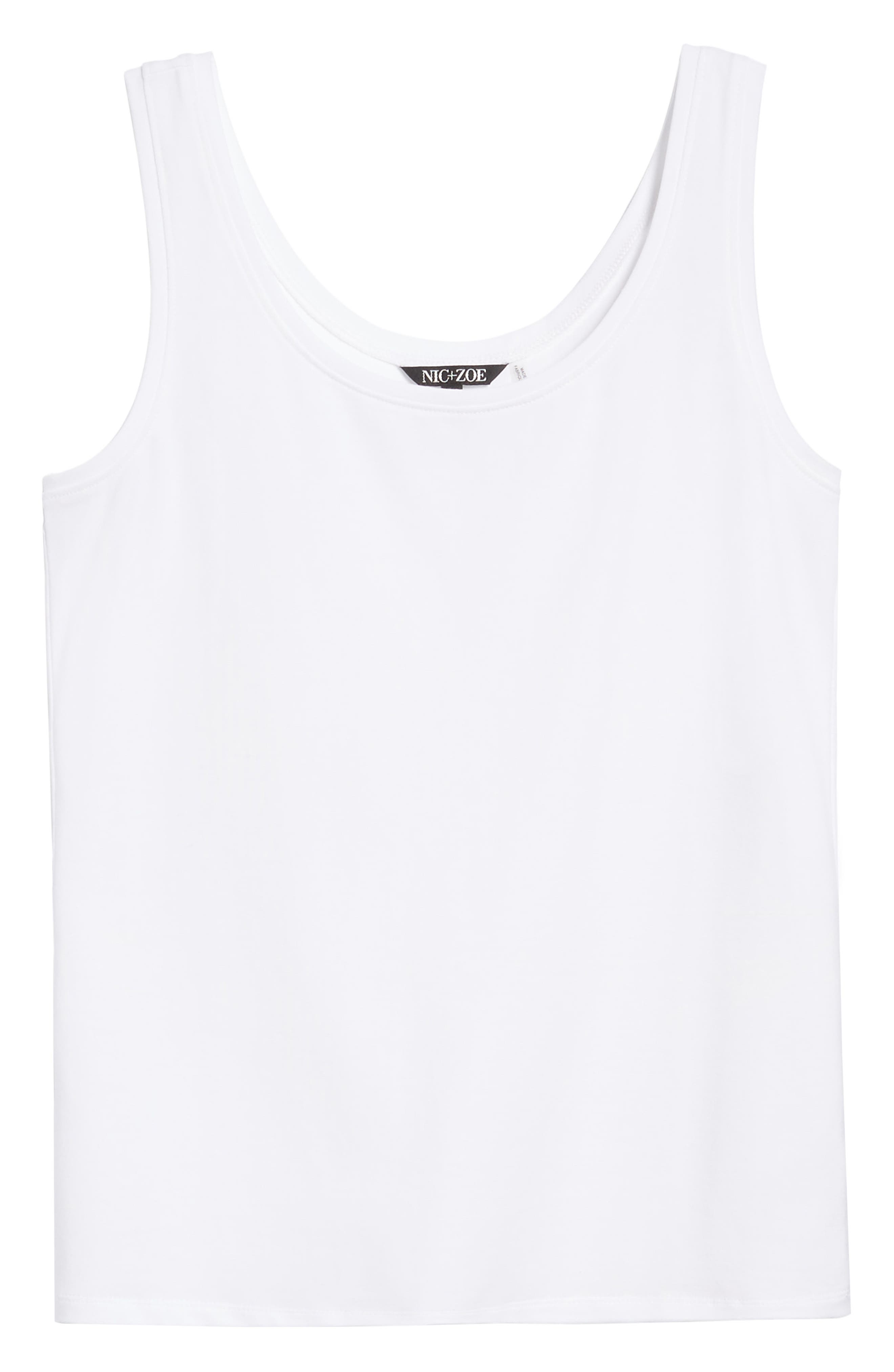 'Perfect' Tank,                             Alternate thumbnail 7, color,                             NEW PAPER WHITE
