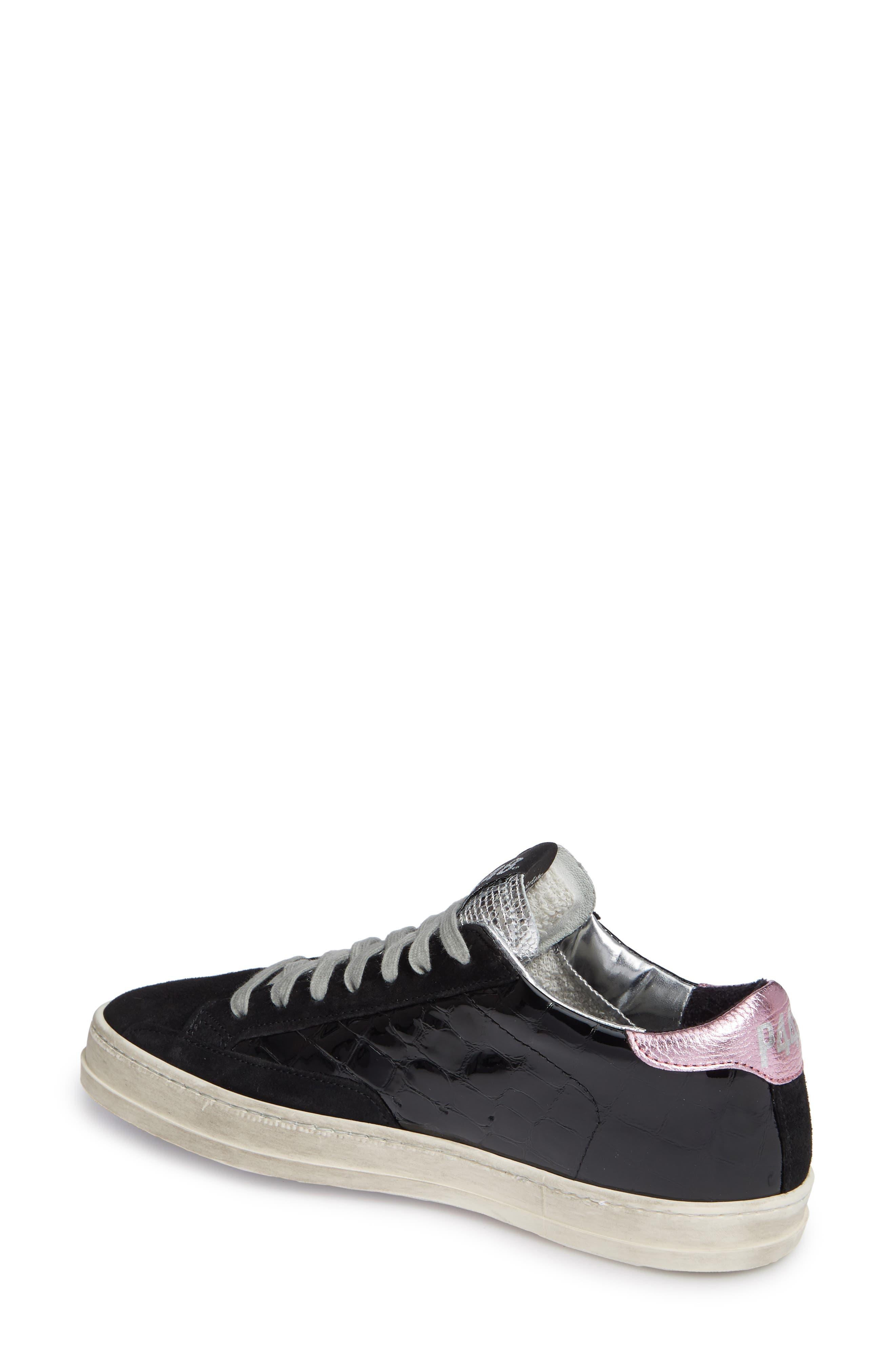 John Sneaker,                             Alternate thumbnail 2, color,                             VYNIL BLACK