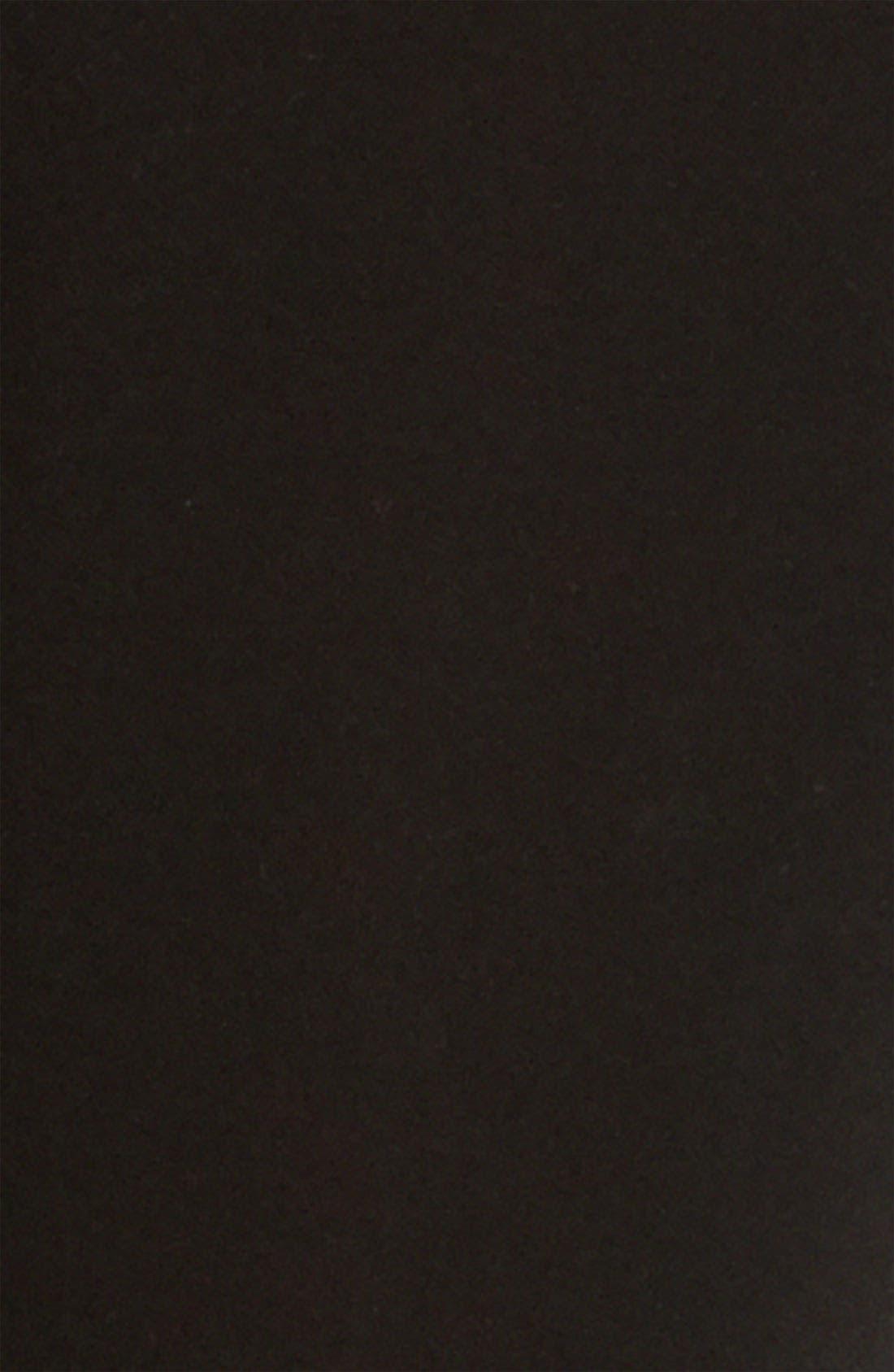 Stretch Cotton Leggings,                             Alternate thumbnail 2, color,                             BLACK