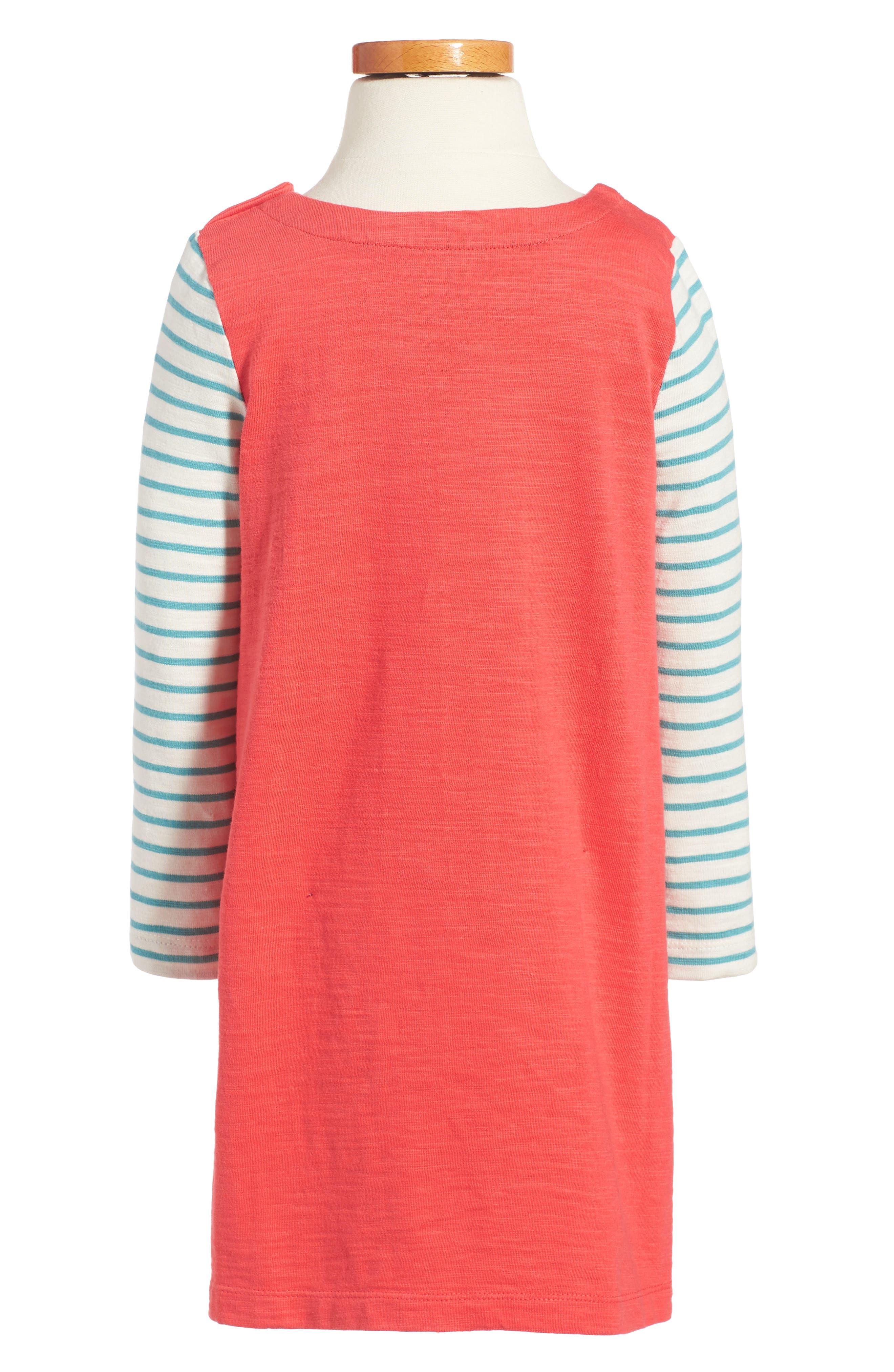 Stripey Jersey Dress,                             Alternate thumbnail 2, color,                             614