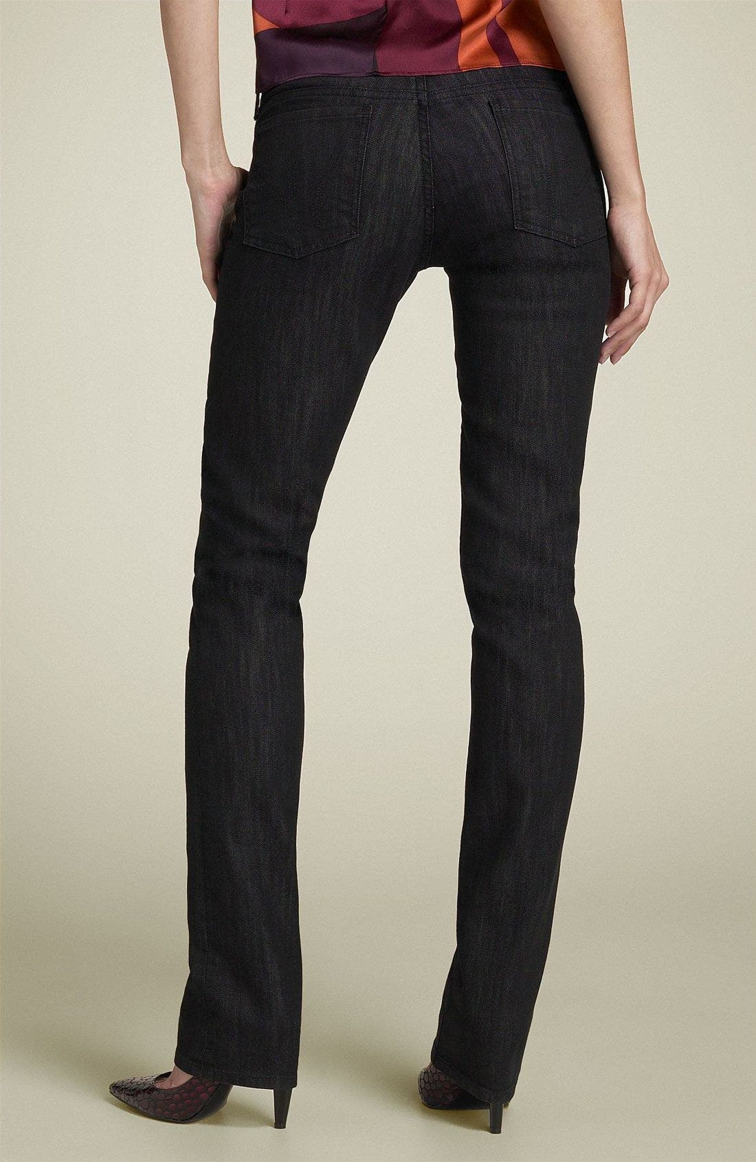 'Ava' Straight Leg Stretch Jeans,                             Main thumbnail 1, color,                             007