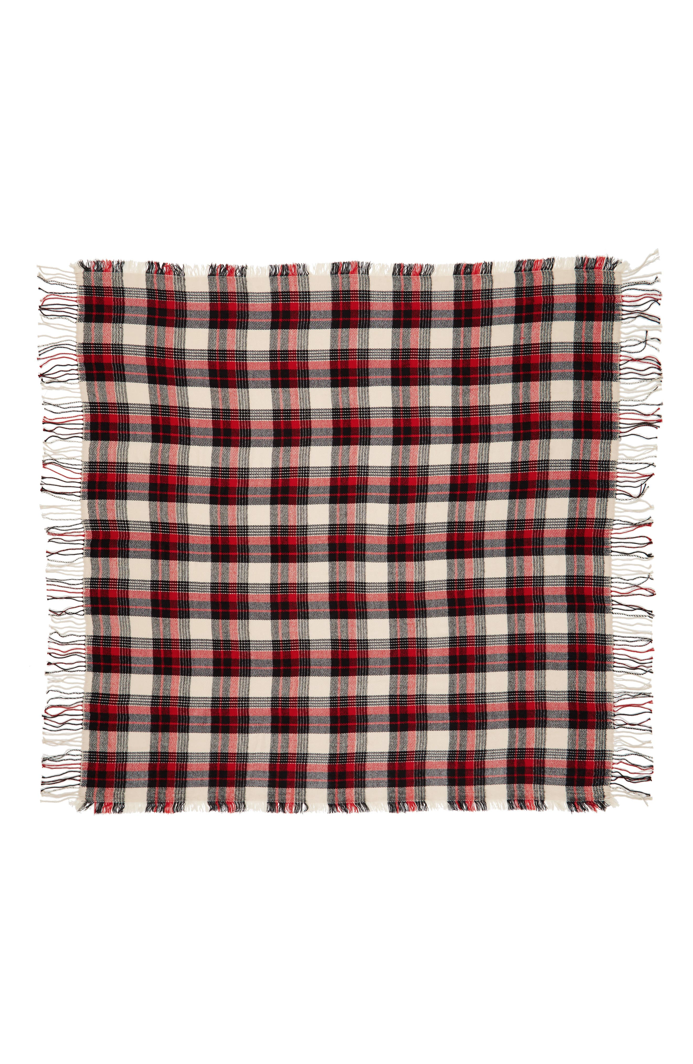 Plaid Scarf,                             Alternate thumbnail 3, color,                             020