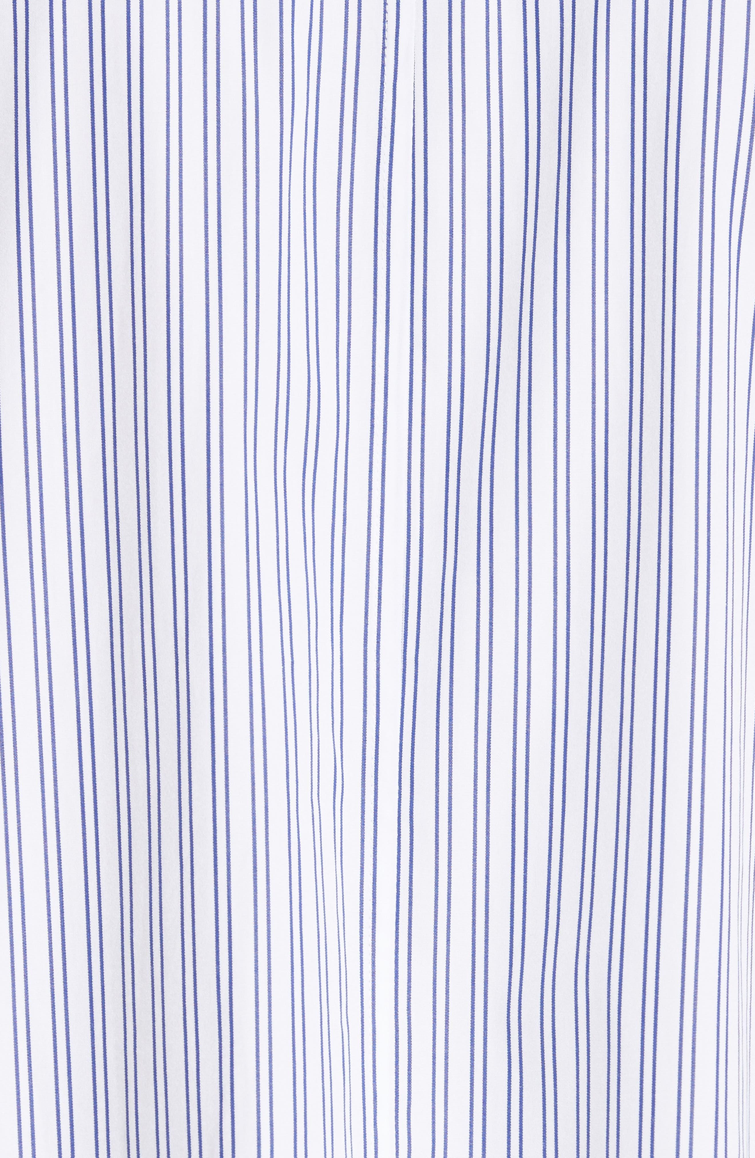 Victoria Oceanic Stripe Blouse,                             Alternate thumbnail 5, color,                             419