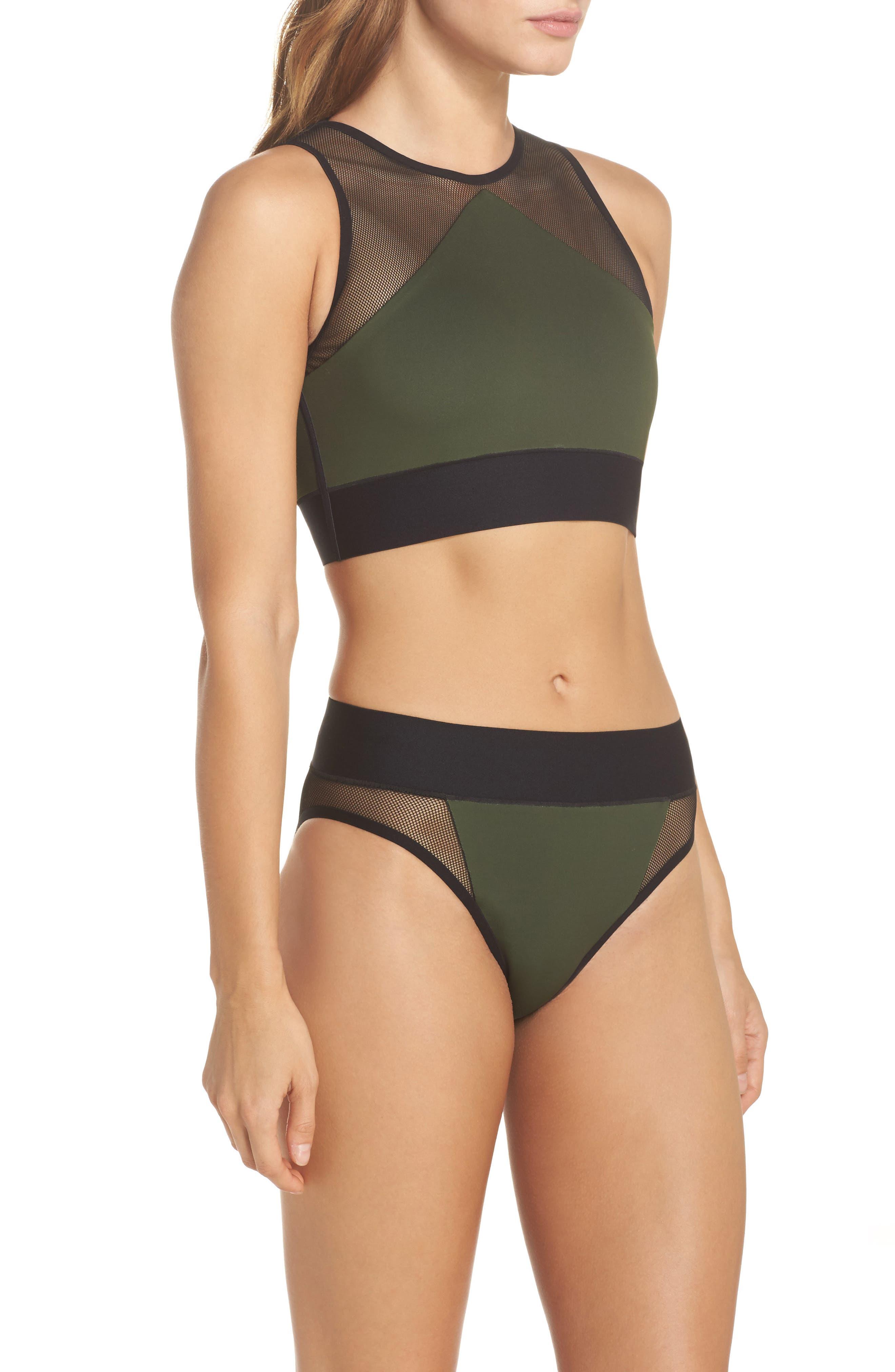 Adrift Sport Mesh Bikini Top,                             Alternate thumbnail 9, color,                             300