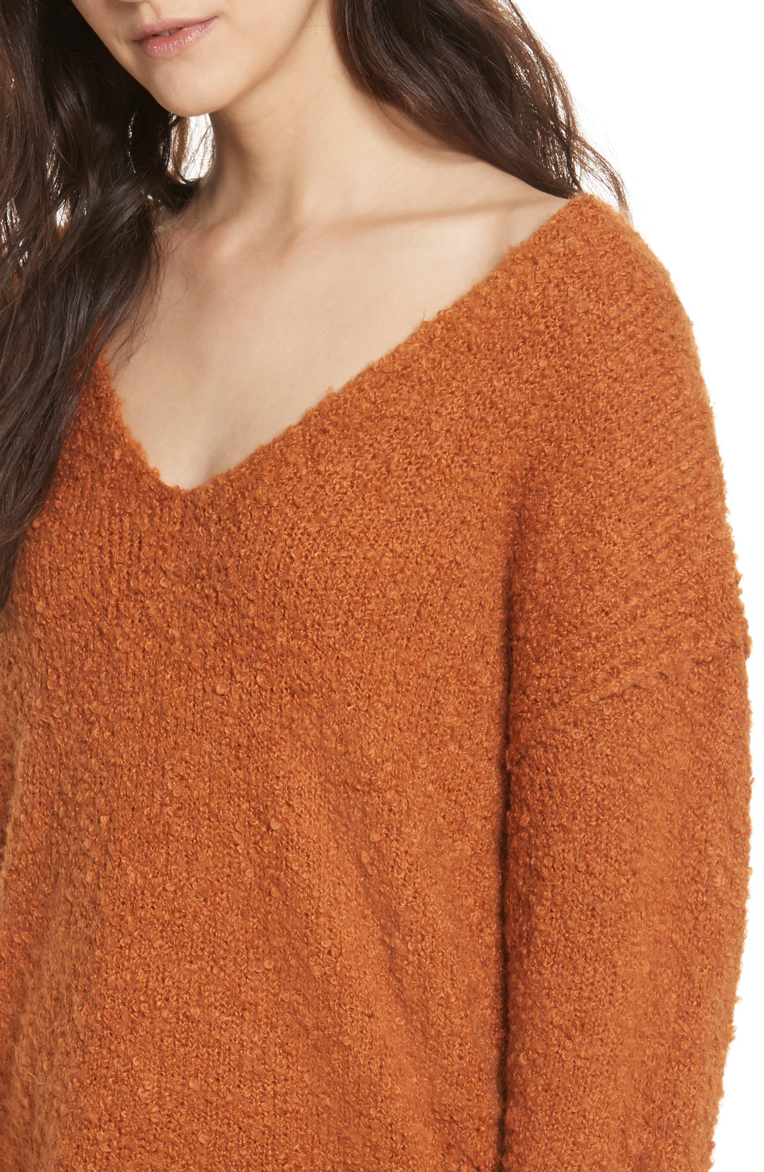 Lofty V-Neck Sweater,                             Alternate thumbnail 26, color,