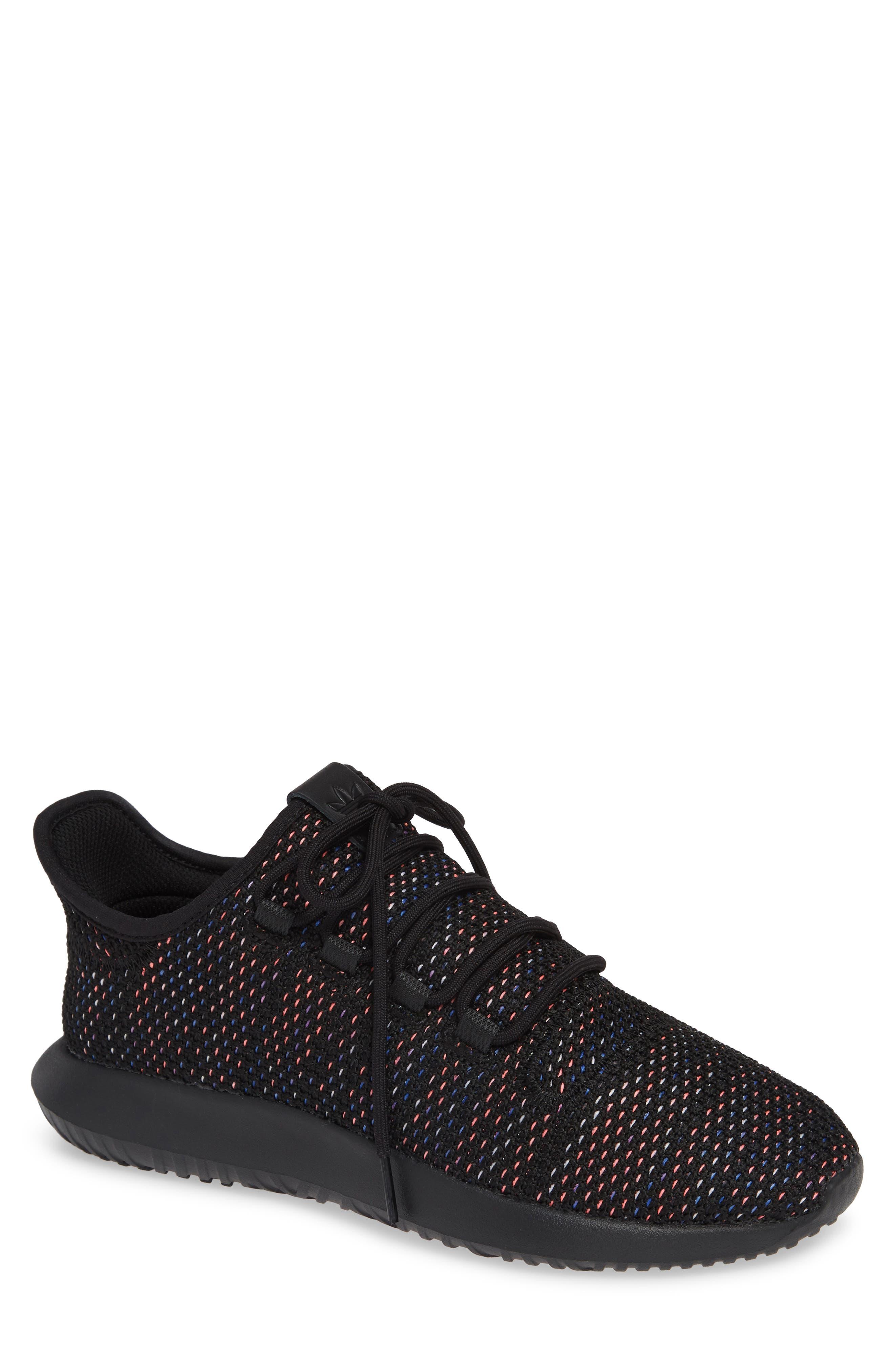Tubular Shadow CK Sneaker,                         Main,                         color, BLACK/ SOLAR RED/ MYSTERY INK