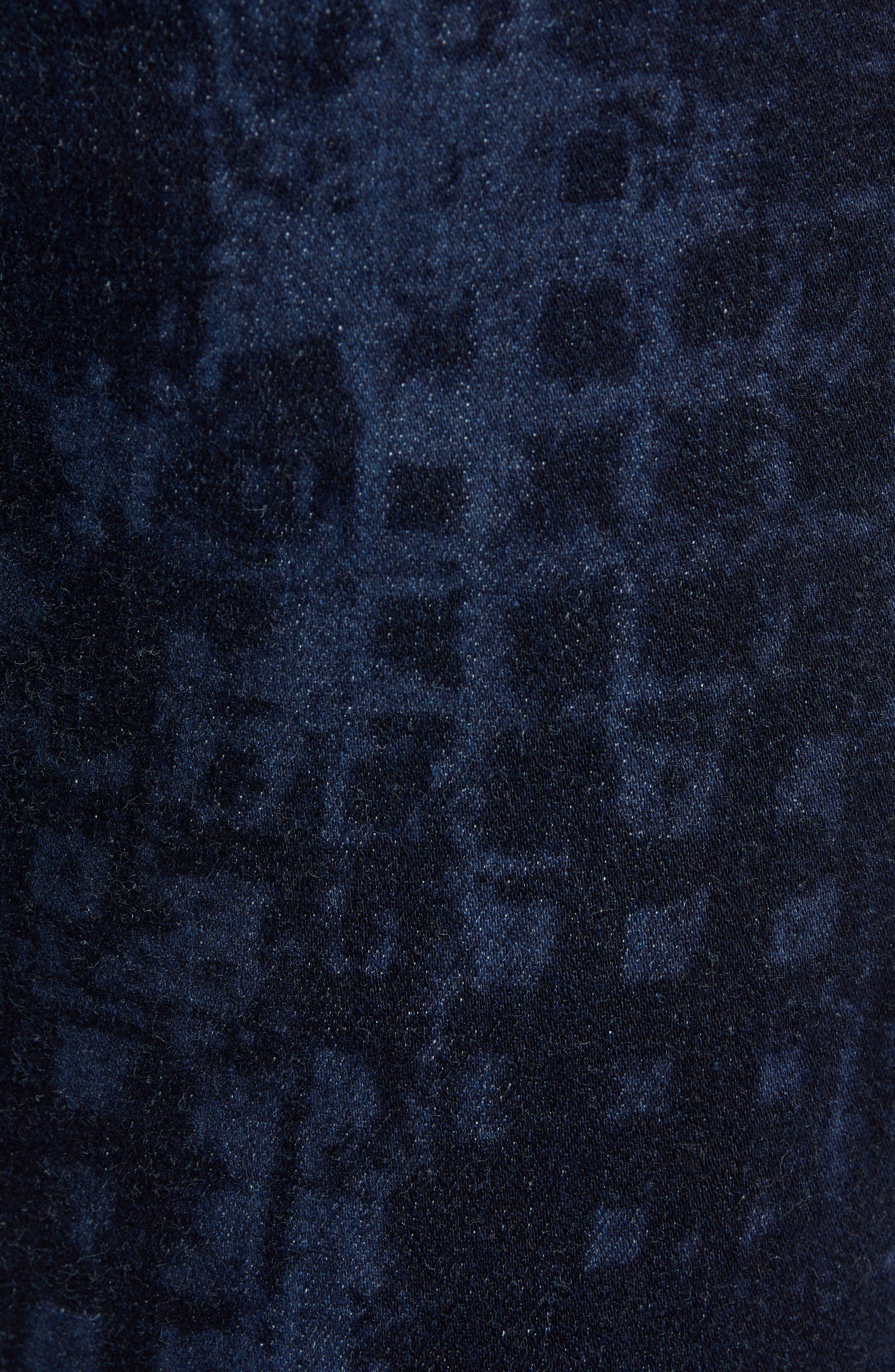 Chilcott Classic Fit Jeans,                             Alternate thumbnail 5, color,                             INDIGO