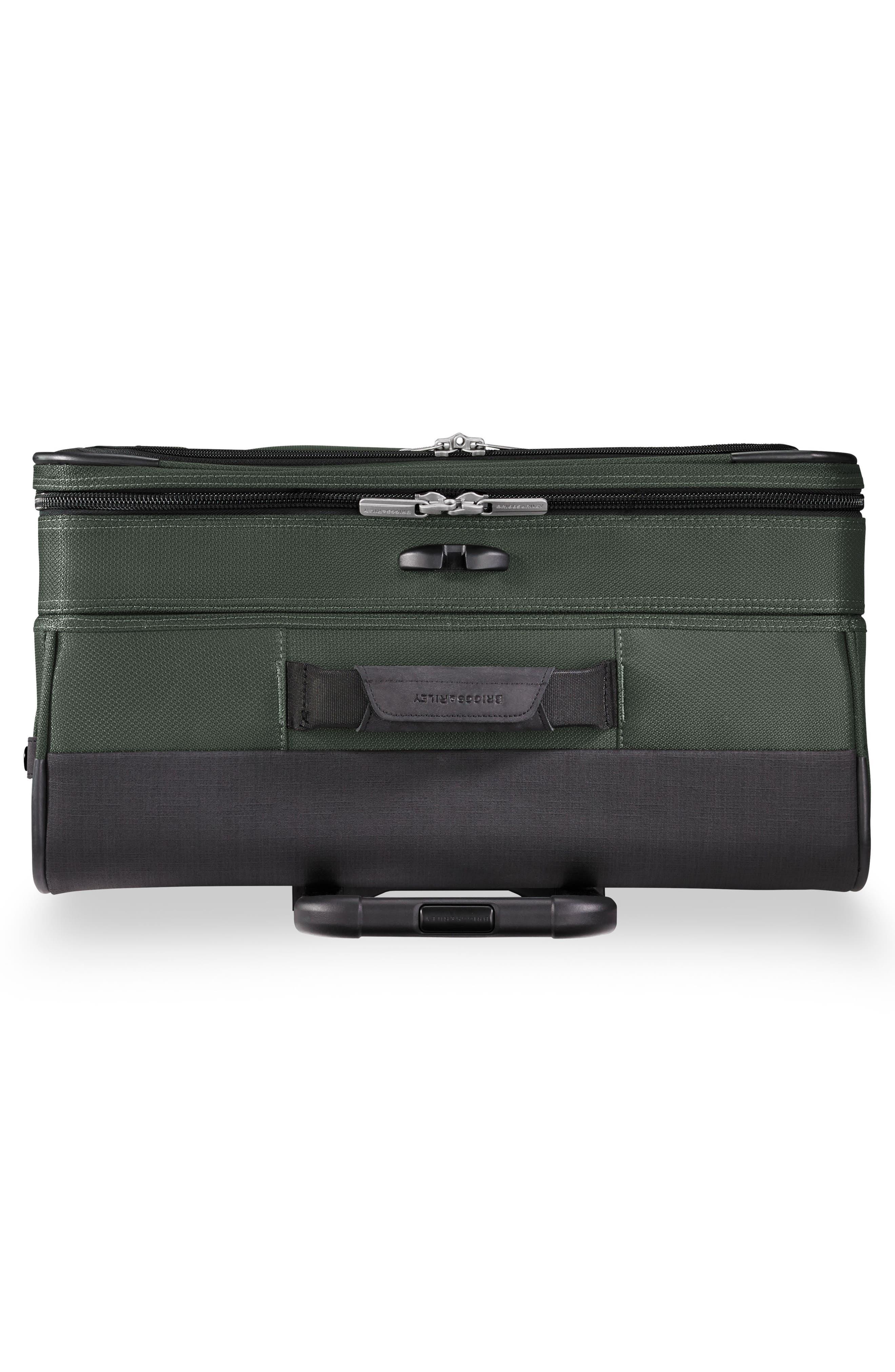 BRIGGS & RILEY,                             Transcend VX Medium Expandable 26-Inch Spinner Suitcase,                             Alternate thumbnail 5, color,                             RAINFOREST GREEN