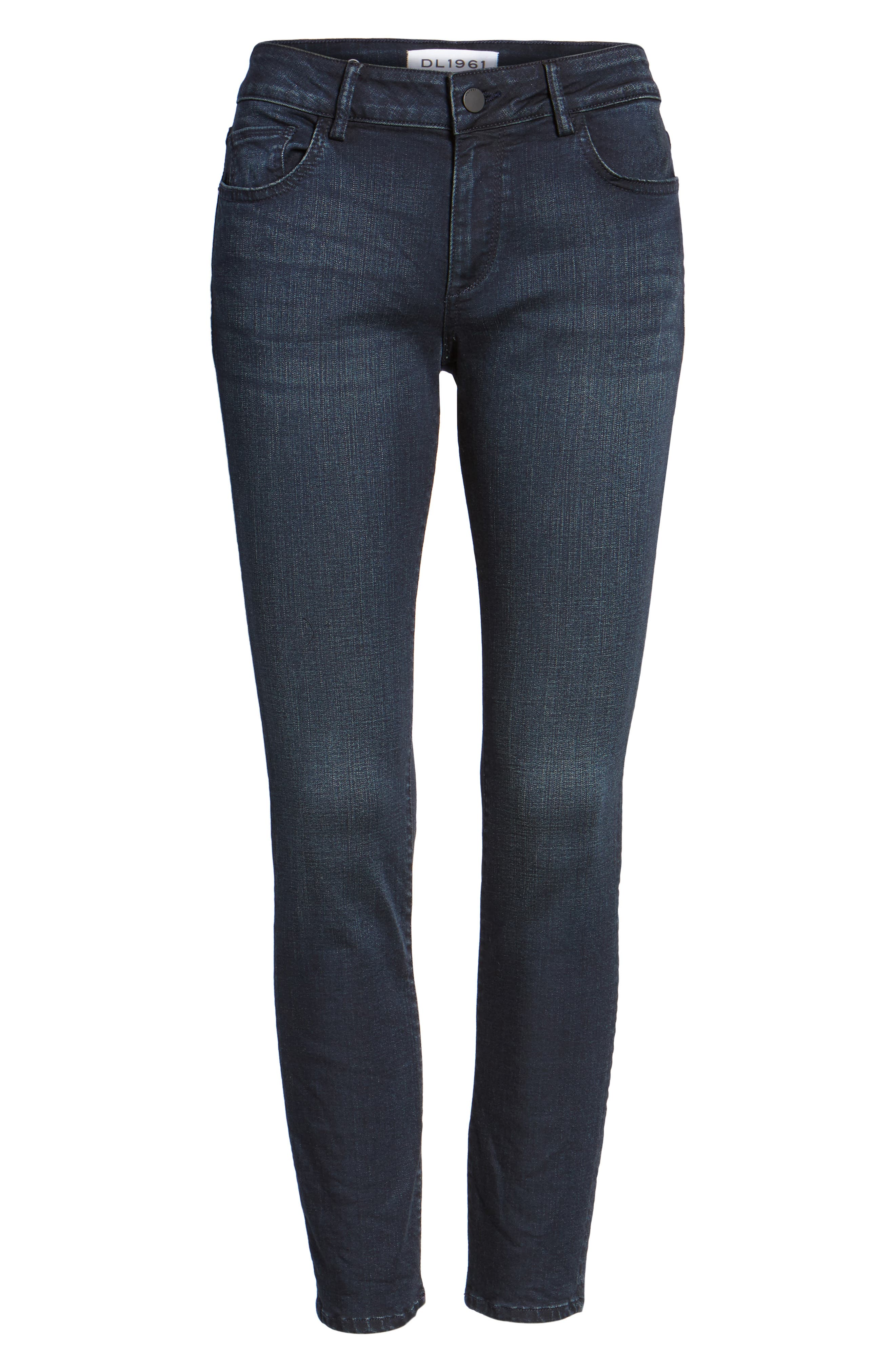 Coco Curvy Skinny Ankle Jeans,                             Alternate thumbnail 6, color,
