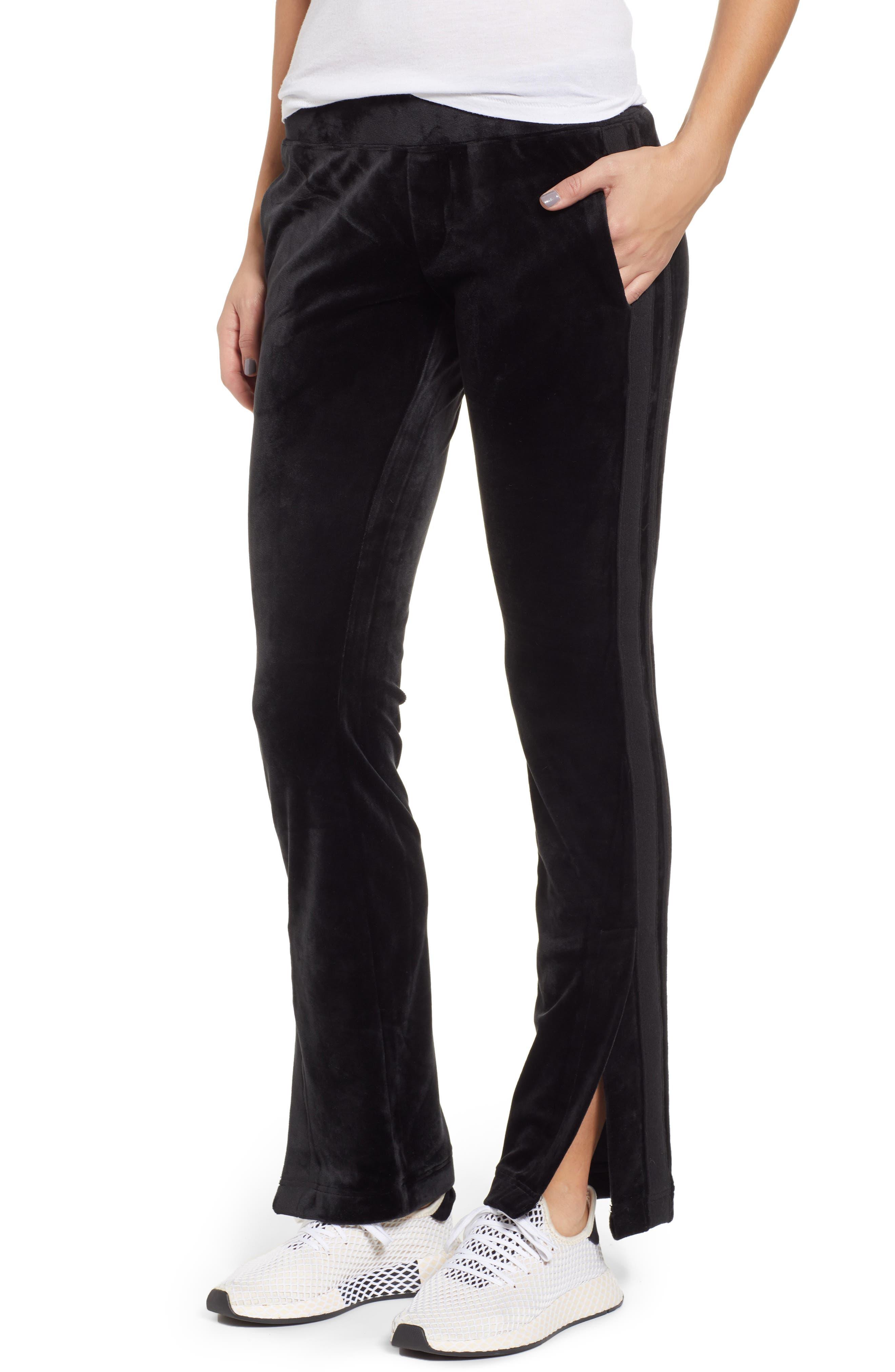 Side Stripe Track Pants, Main, color, 001