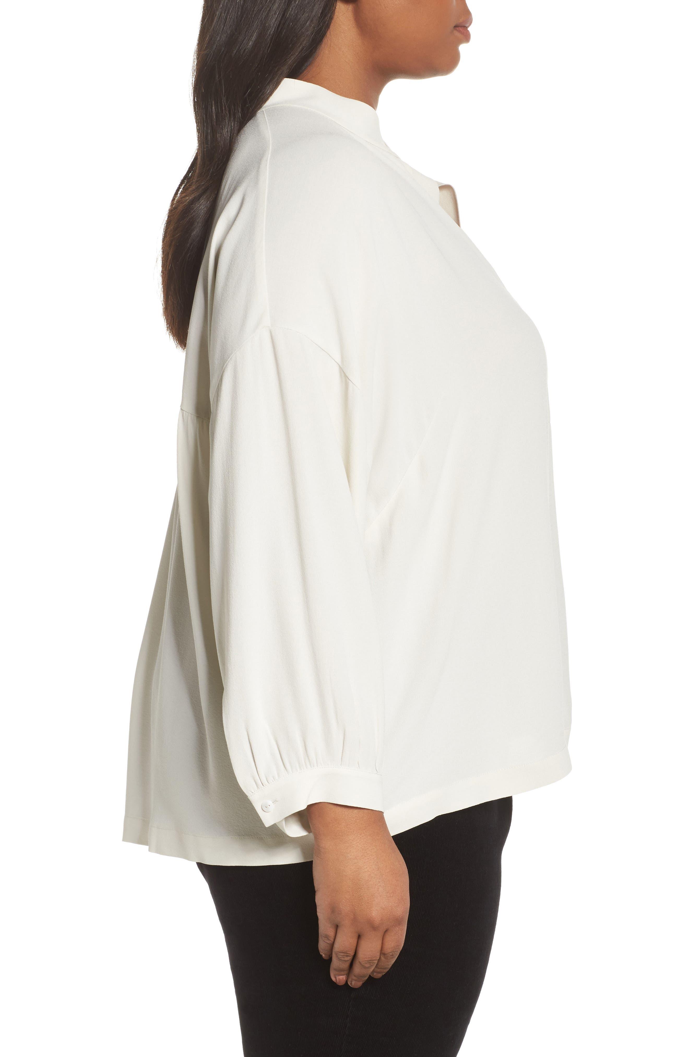 Silk Shirt,                             Alternate thumbnail 3, color,                             907