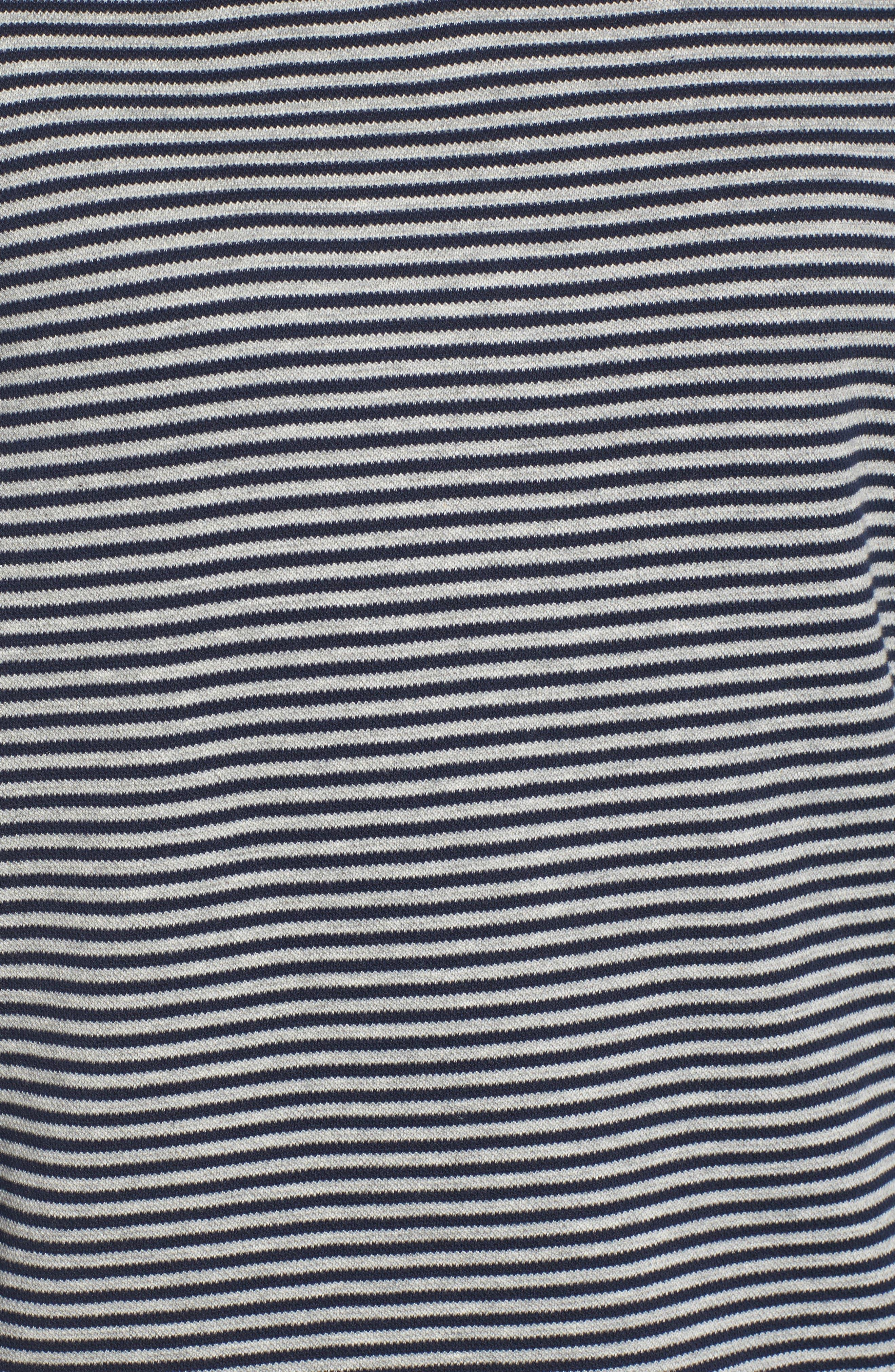 Funnel Zip Neck Dress,                             Alternate thumbnail 5, color,                             463