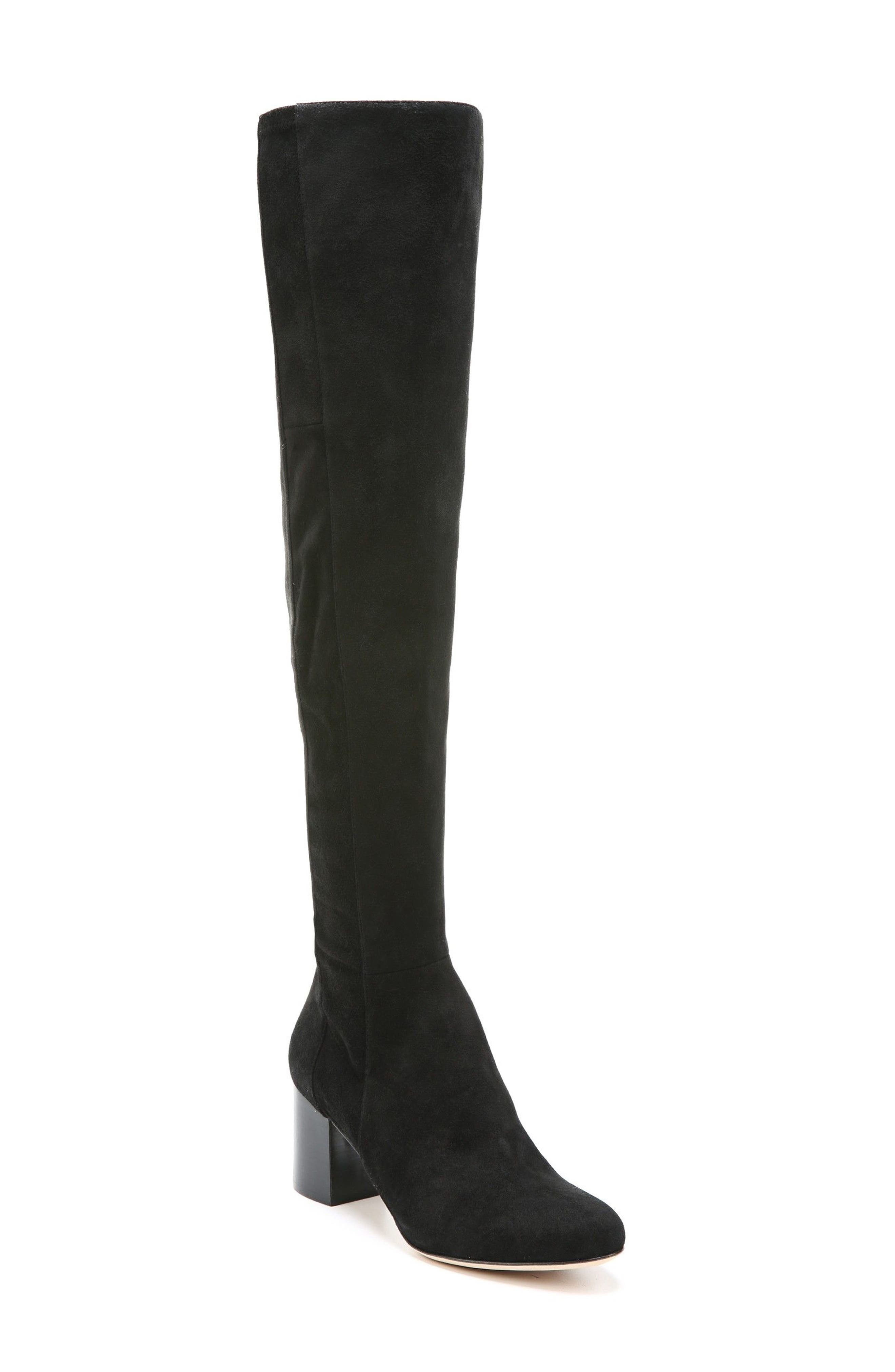 Luzzi Over the Knee Boot,                             Main thumbnail 1, color,