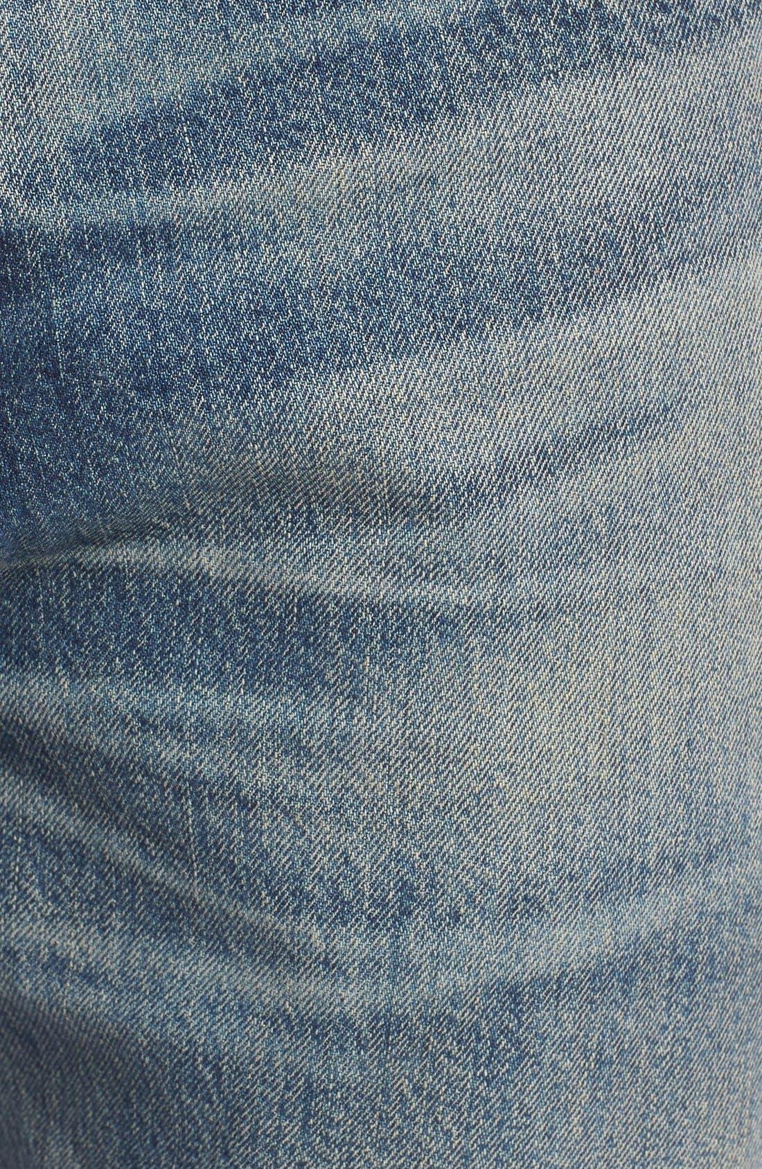Rowan Slouchy Skinny Fit Jeans,                             Alternate thumbnail 5, color,                             462