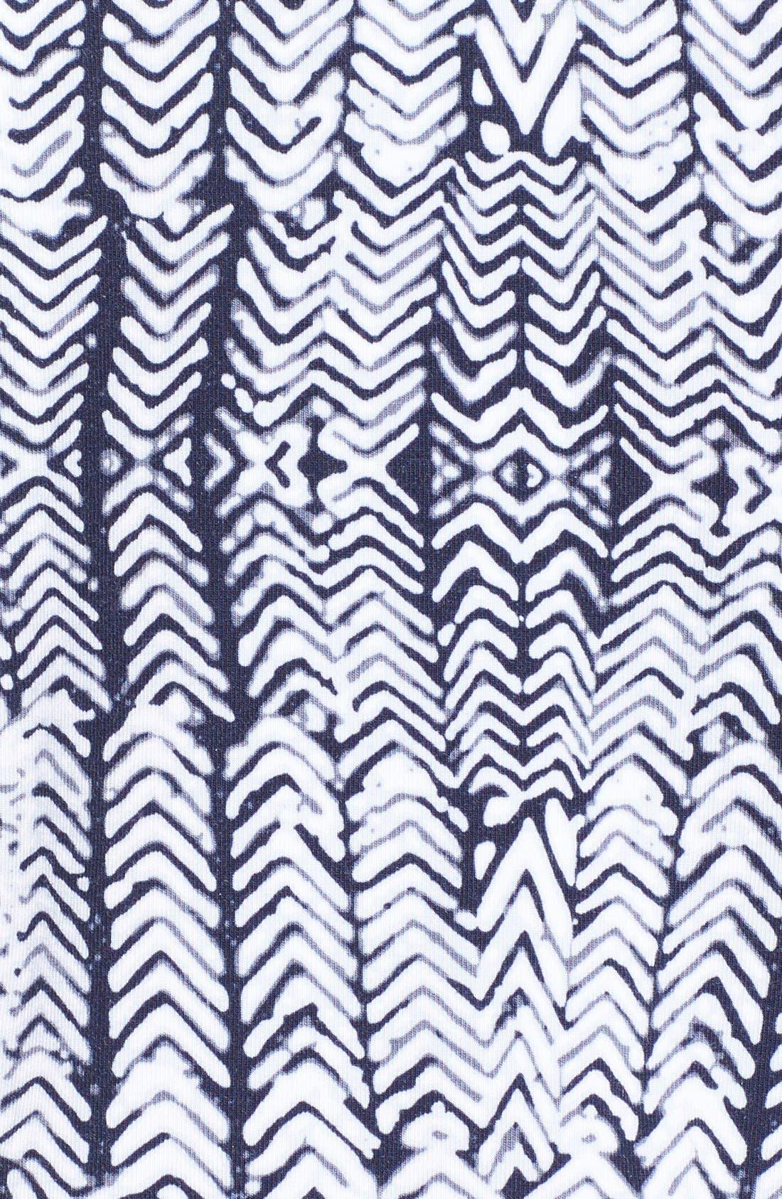 Jan Print Jersey Sleeveless Blouson Dress,                             Alternate thumbnail 6, color,                             027