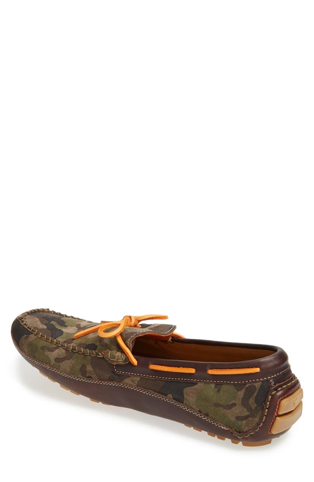 'Drake' Leather Driving Shoe,                             Alternate thumbnail 17, color,