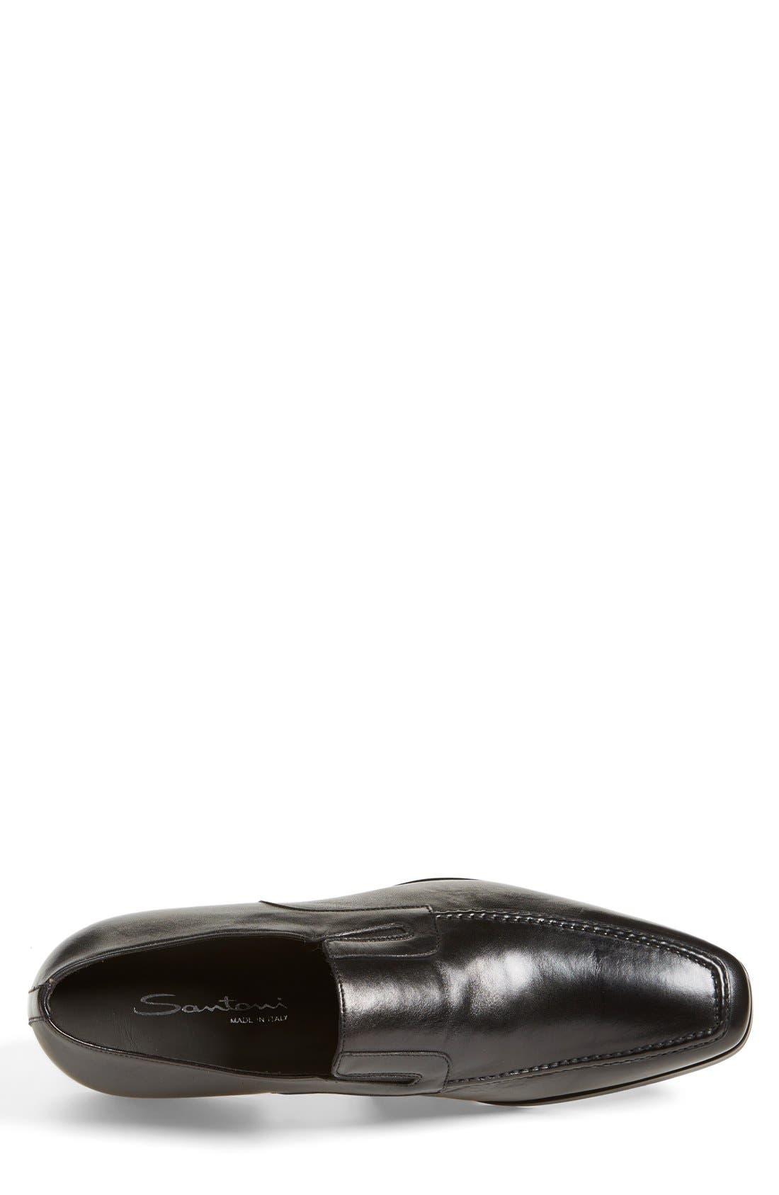 'Blaze' Venetian Loafer,                             Alternate thumbnail 3, color,                             001