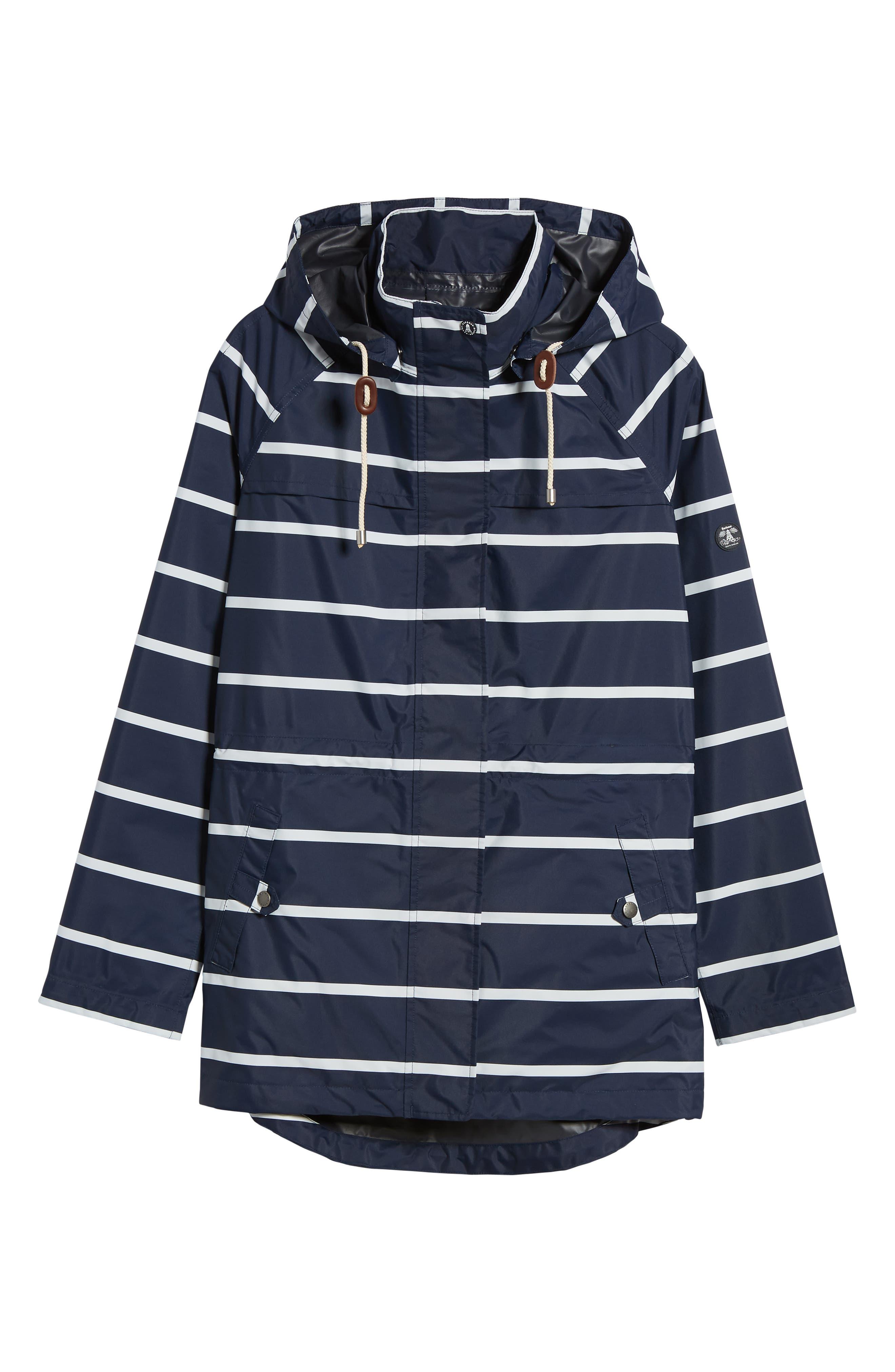 Holliwell Stripe Hooded Jacket,                             Alternate thumbnail 5, color,                             410