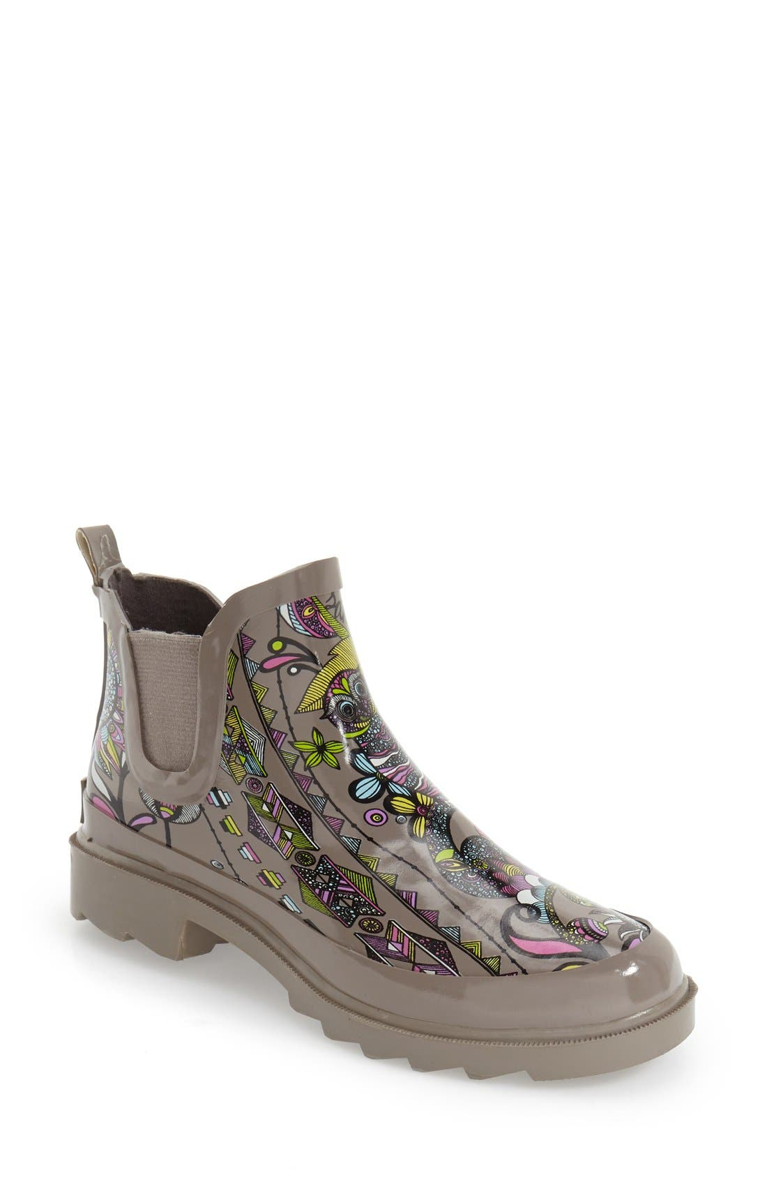 'Rhyme' Waterproof Rain Boot,                             Main thumbnail 13, color,