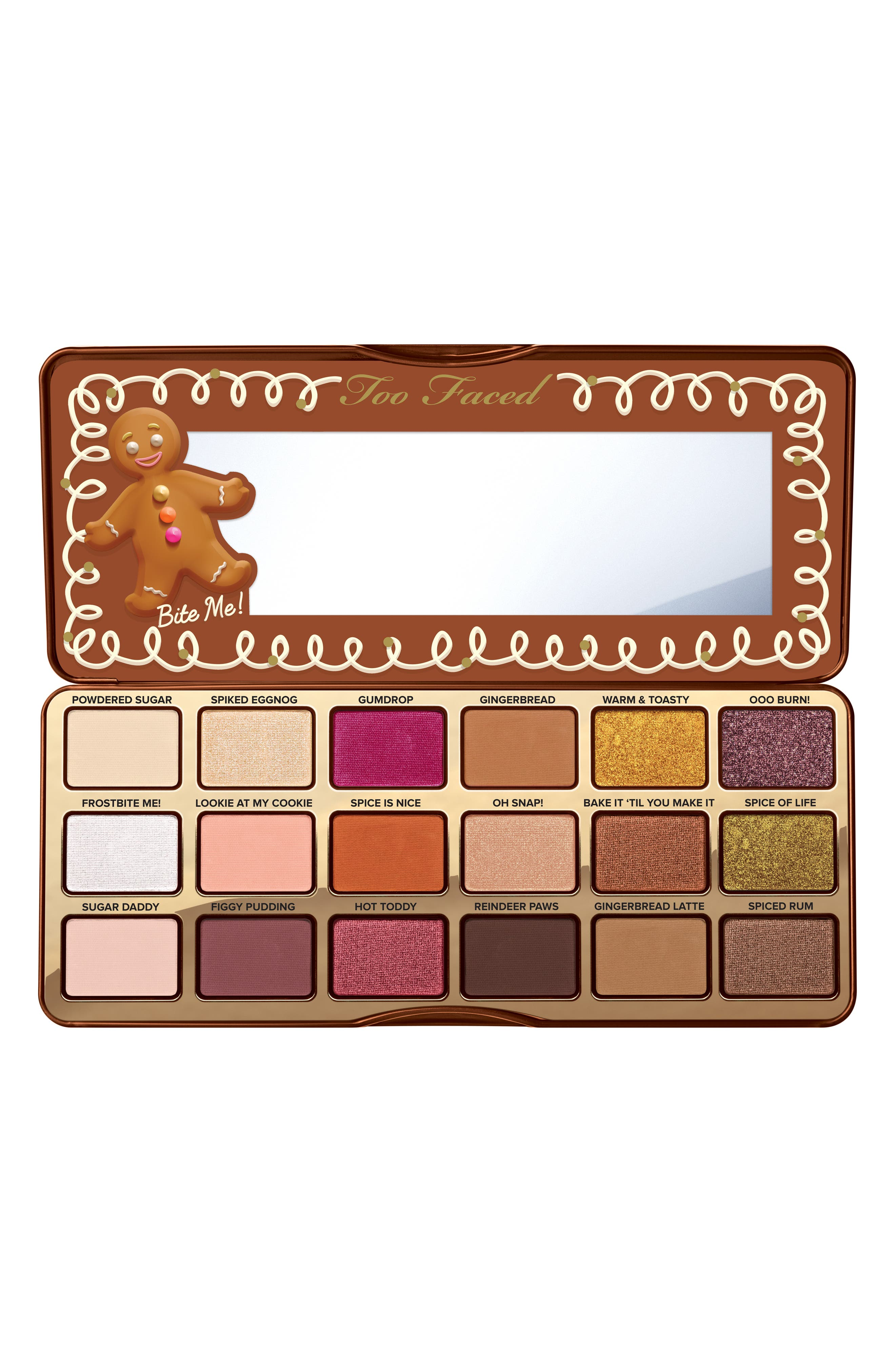 TOO FACED,                             Gingerbread Spice Palette,                             Main thumbnail 1, color,                             220
