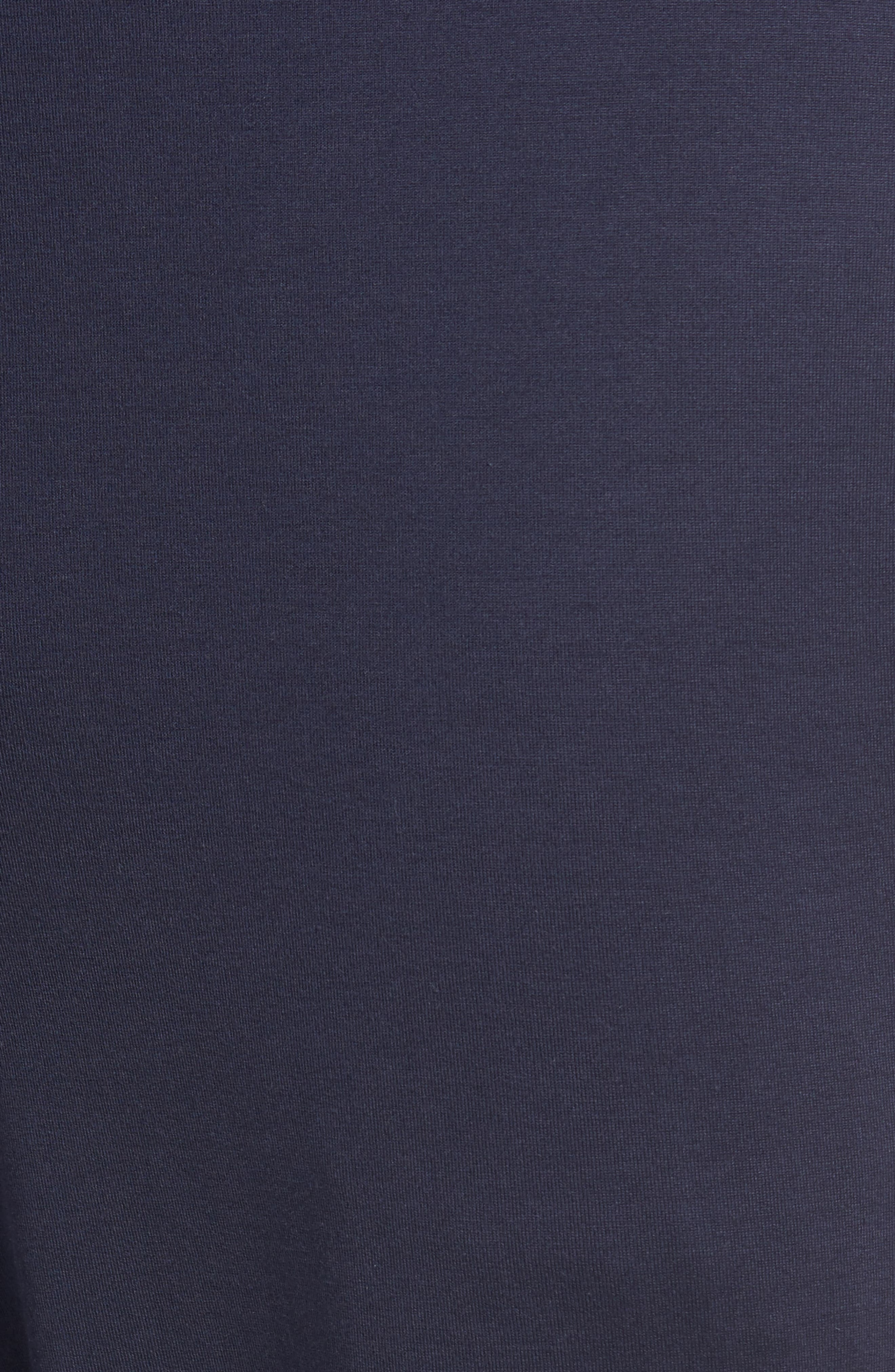 HANRO,                             Night & Day Knit Lounge Pants,                             Alternate thumbnail 5, color,                             BLACK IRIS