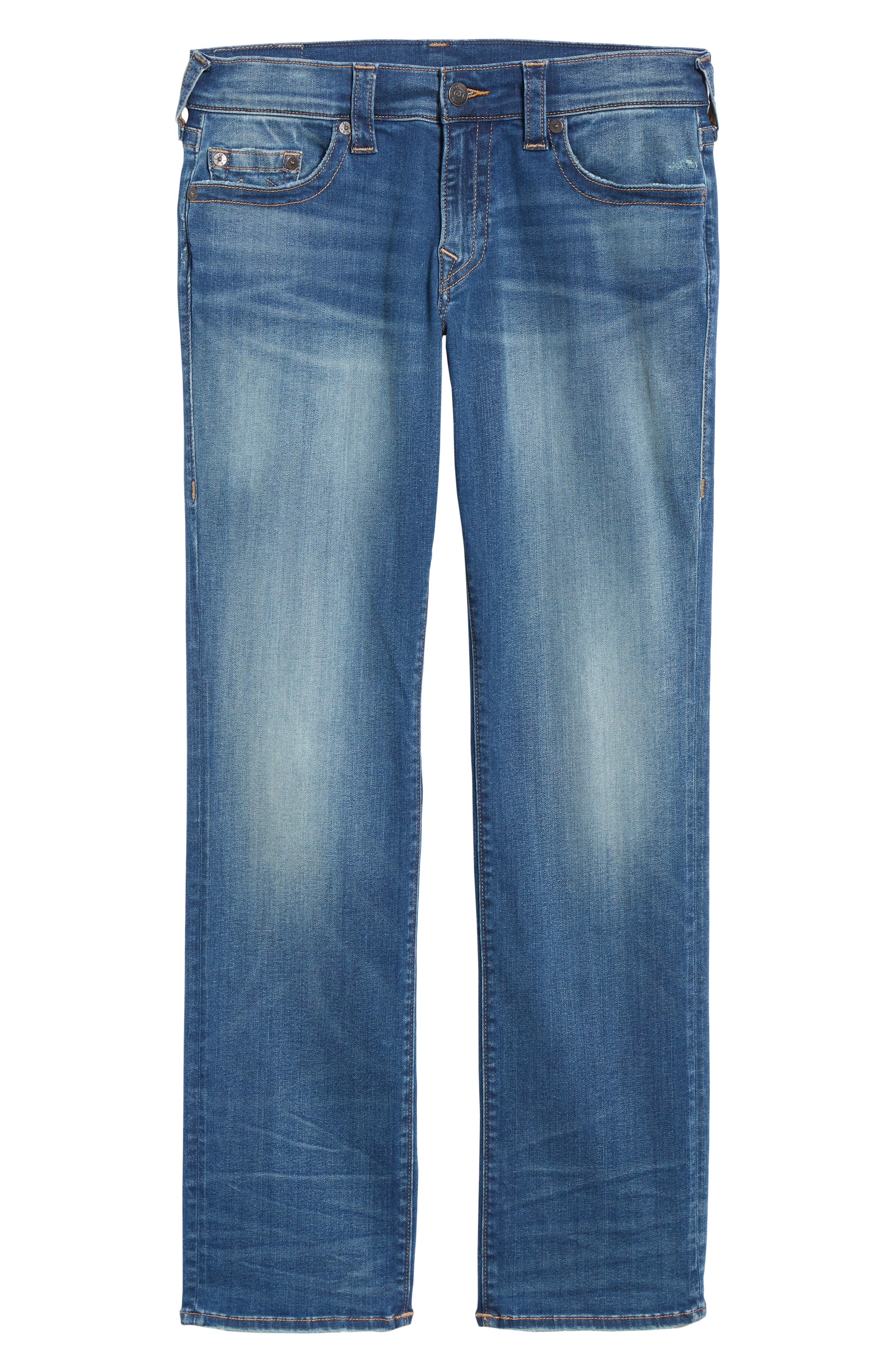 Ricky Relaxed Fit Jeans,                             Alternate thumbnail 6, color,                             SUPERNOVA BLUES