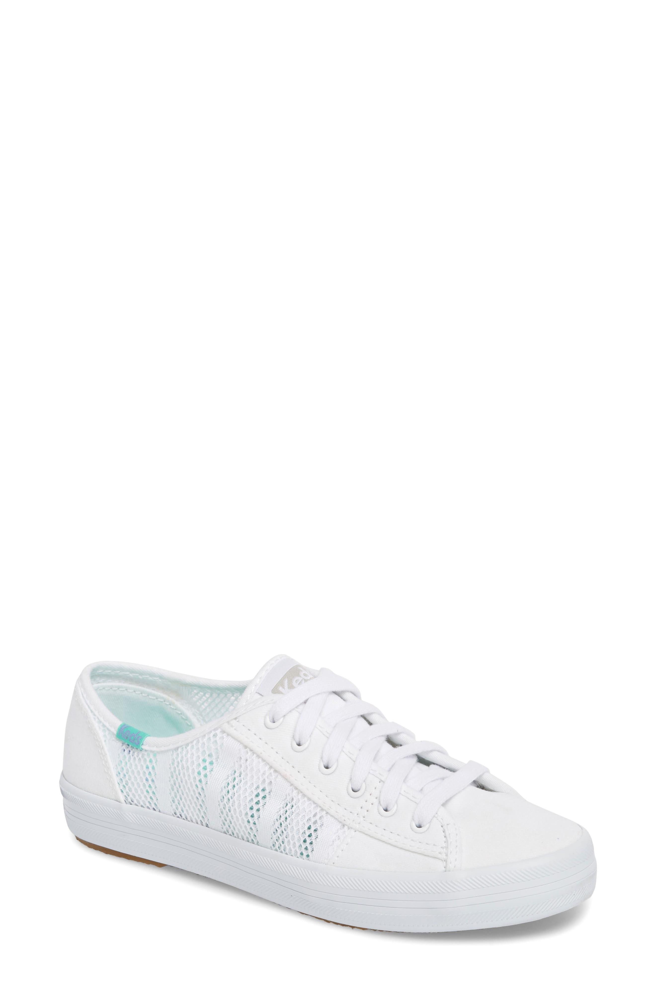 Kickstart Stripe Mesh Sneaker,                         Main,                         color, 100