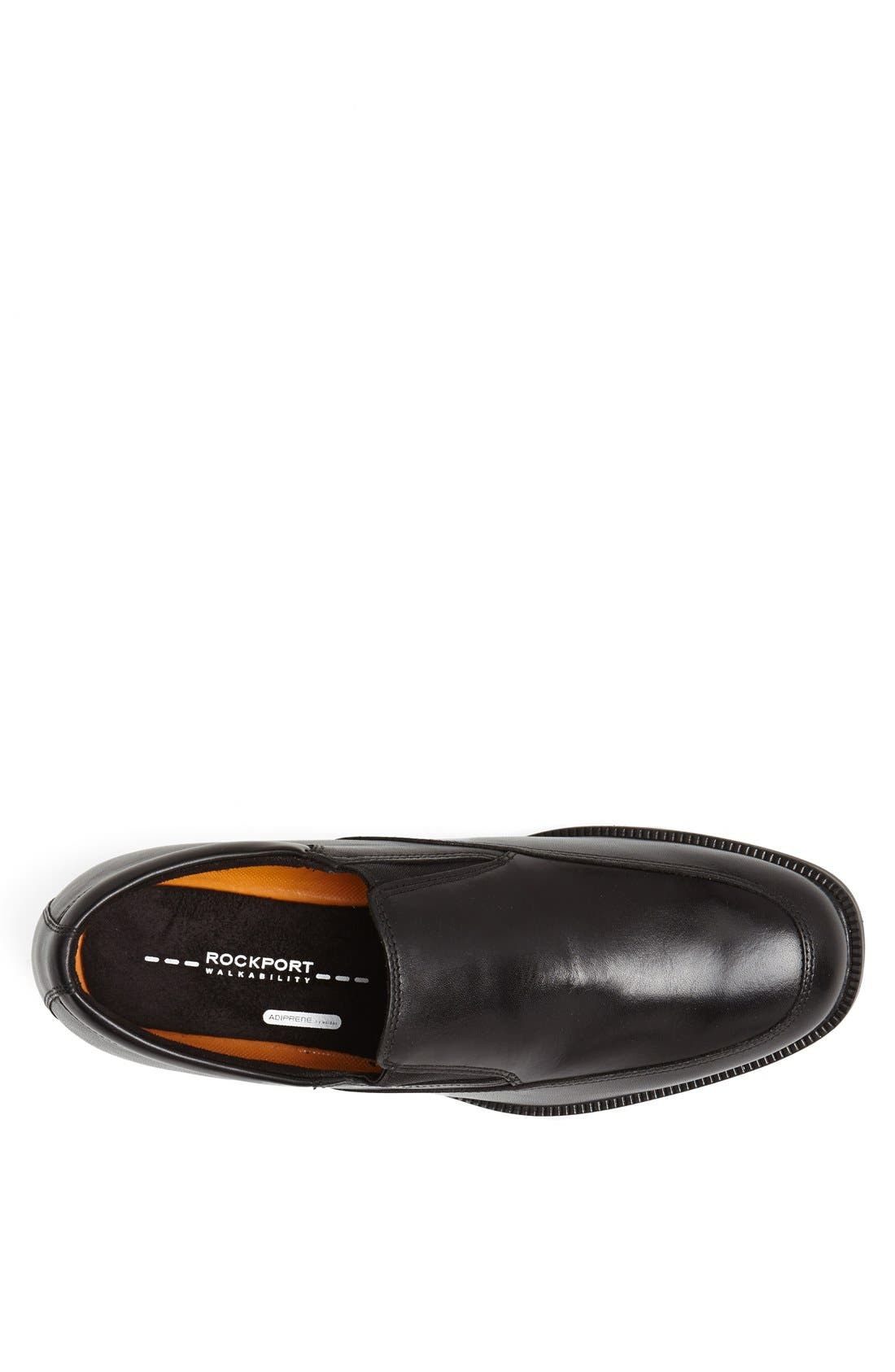 'Essential Details' Waterproof Loafer,                             Alternate thumbnail 6, color,                             BLACK
