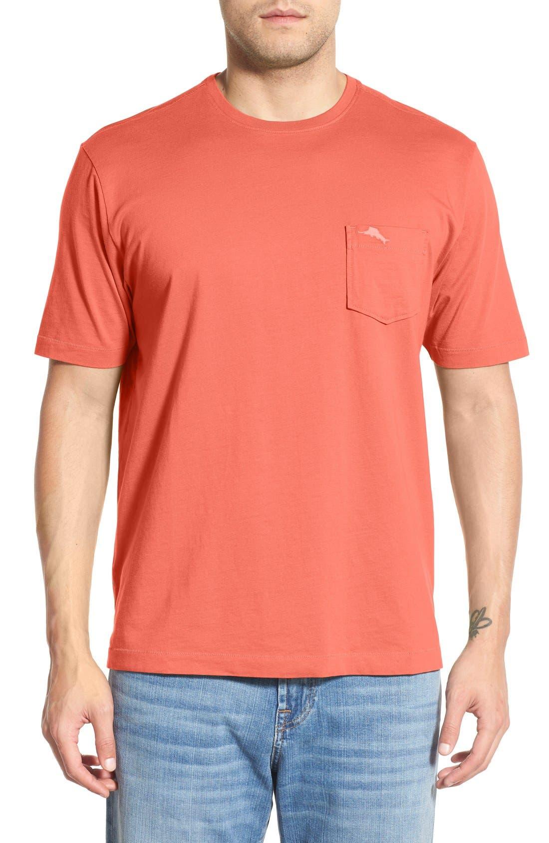New Bali Sky Pima Cotton Pocket T-Shirt,                             Main thumbnail 53, color,