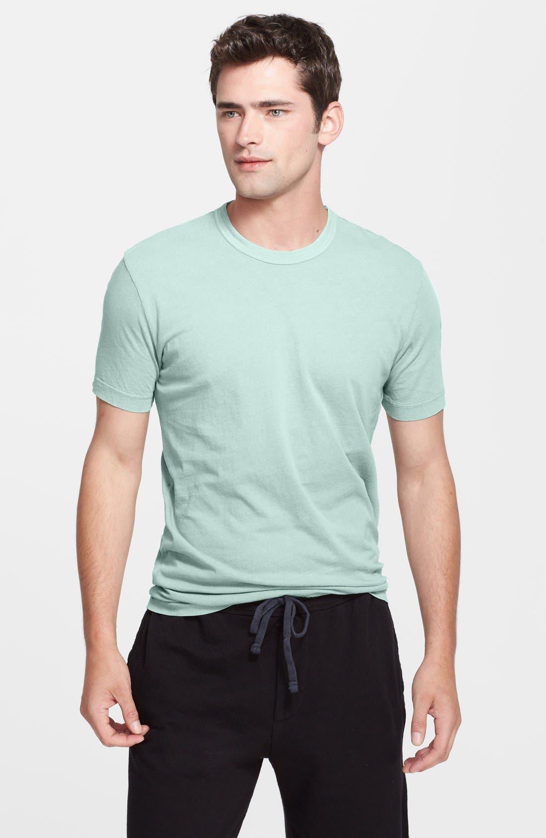 Crewneck Jersey T-Shirt,                             Main thumbnail 90, color,