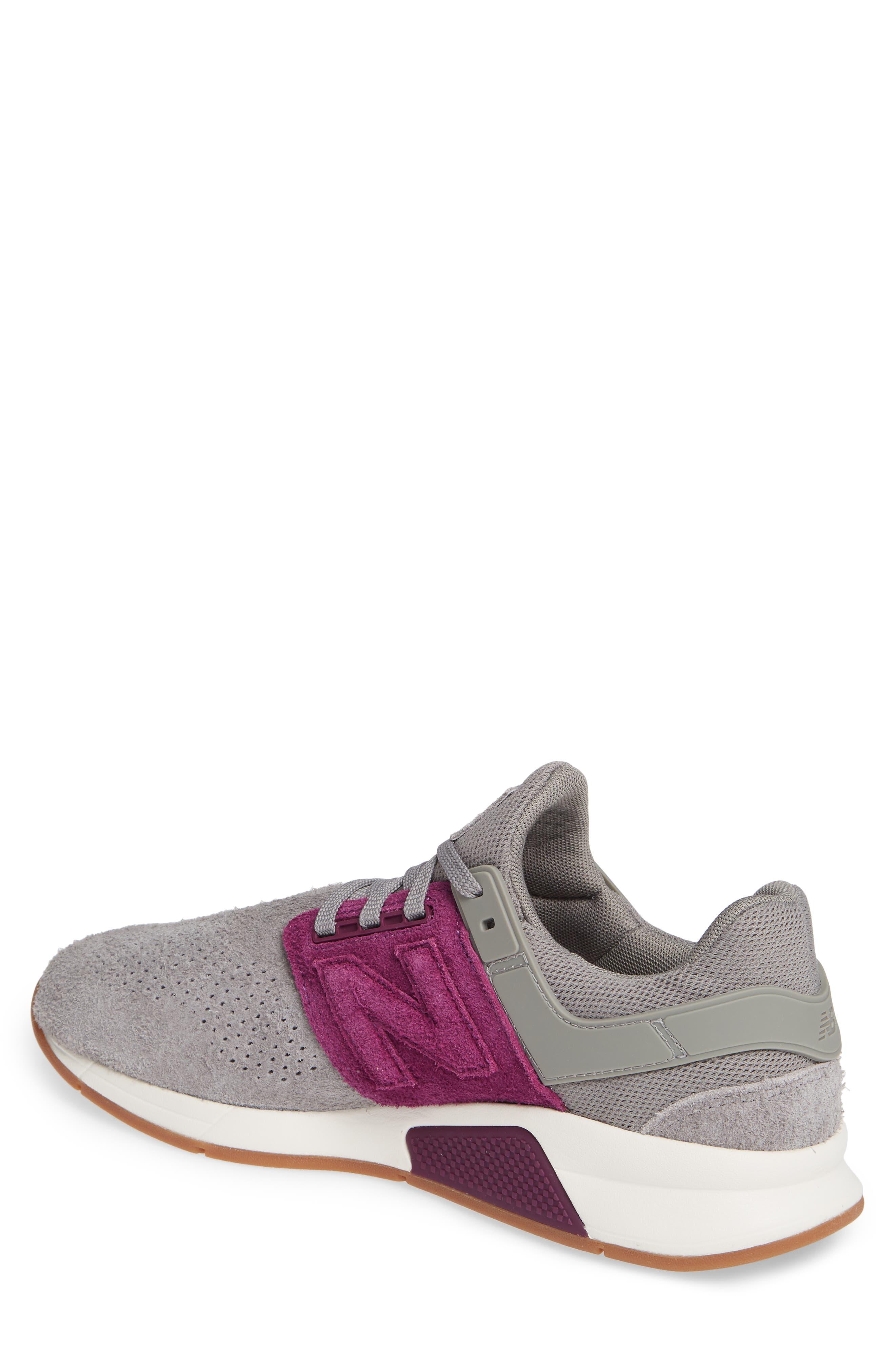 247 Suede Sneaker,                             Alternate thumbnail 2, color,                             MARBLEHEAD SUEDE