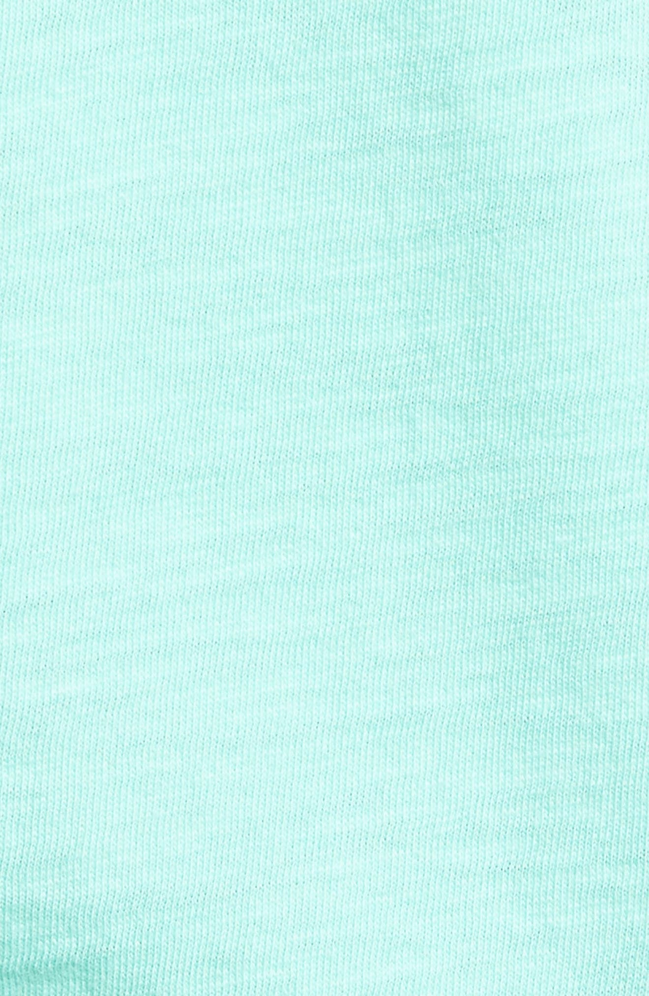 Painted Mahi Graphic Slub T-Shirt,                             Alternate thumbnail 5, color,