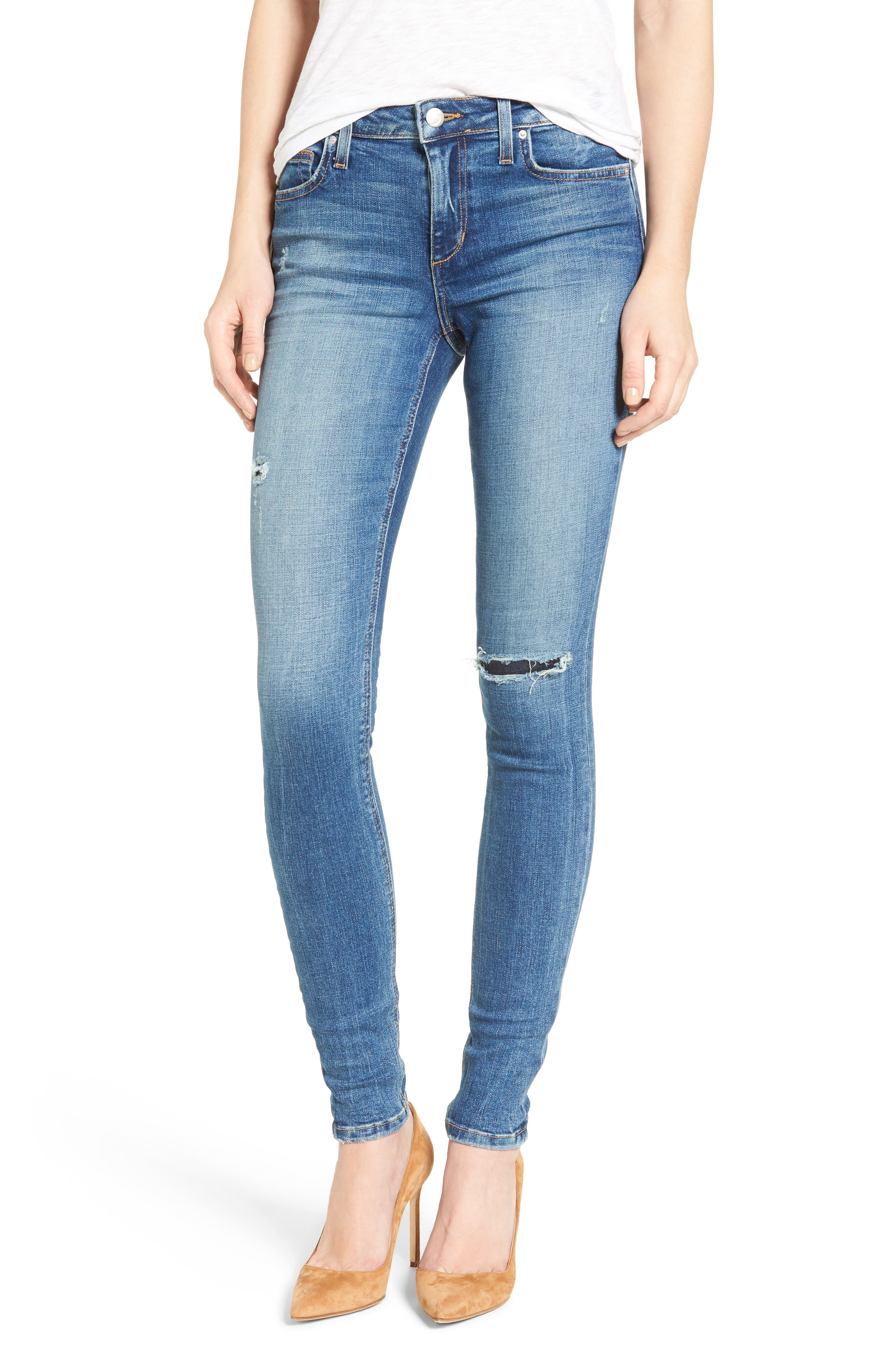 Icon Skinny Jeans,                         Main,                         color, 410