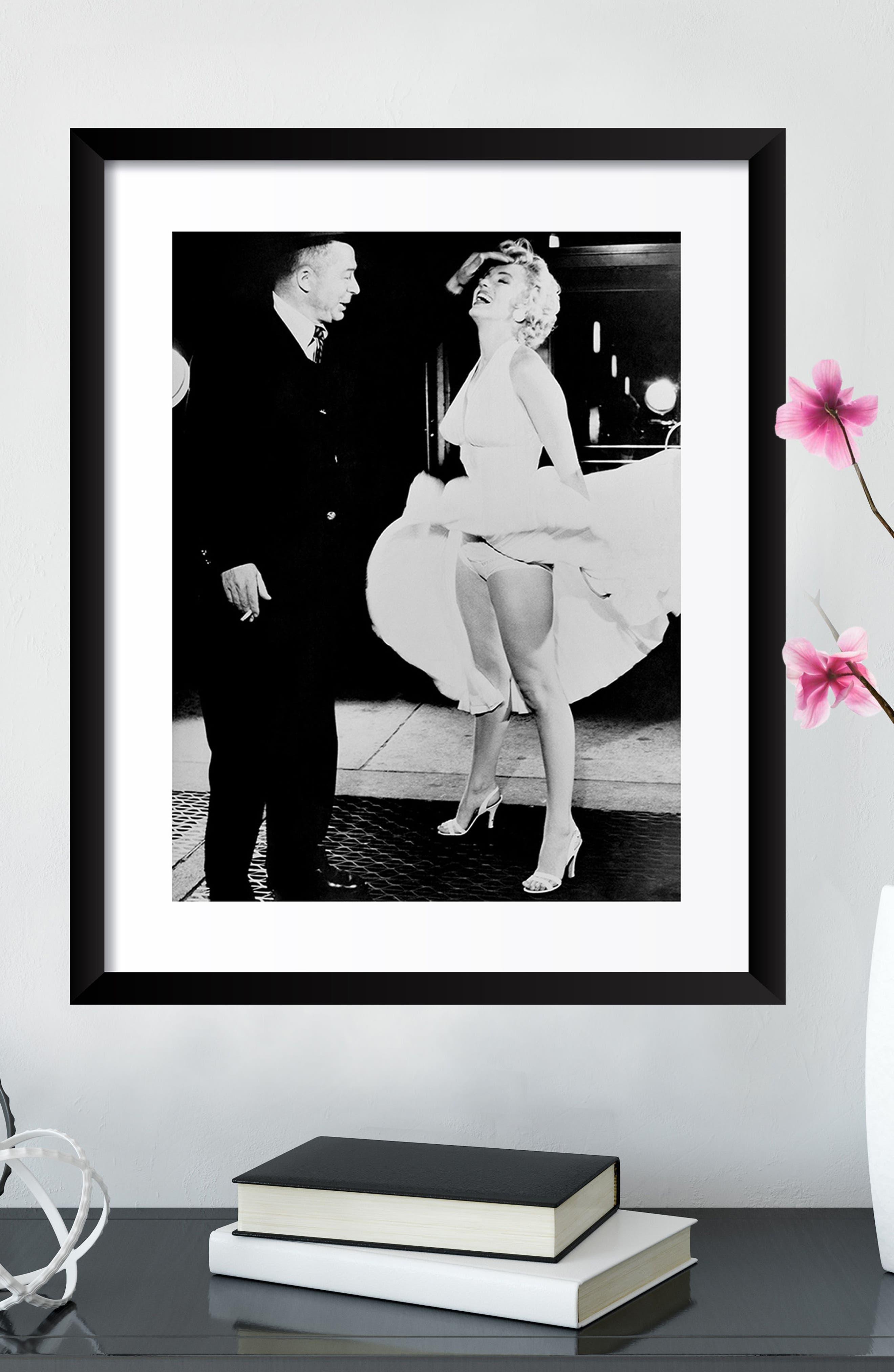 ARTOGRAPHY LIMITED,                             Billy Wilder & Marilyn Monroe Fine Art Print,                             Alternate thumbnail 4, color,                             001