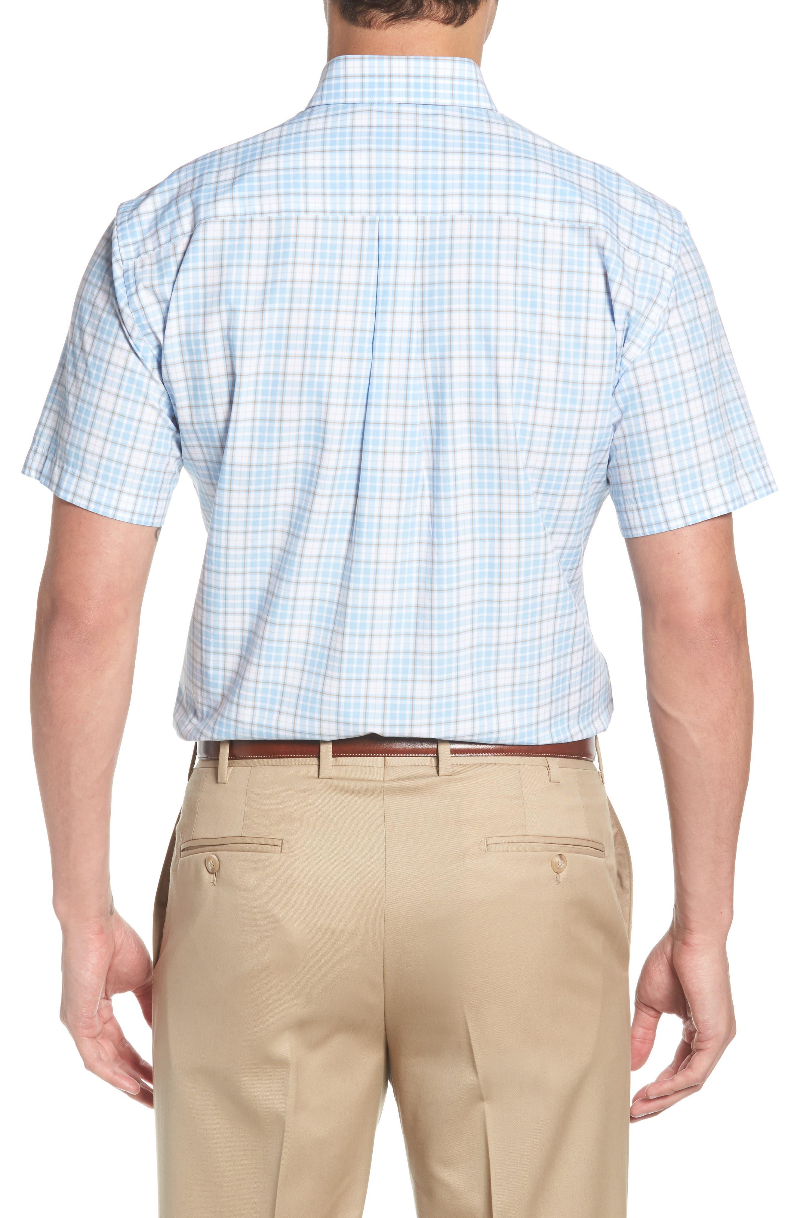 PETER MILLAR,                             Belltown Regular Fit Tartan Sport Shirt,                             Alternate thumbnail 2, color,                             400