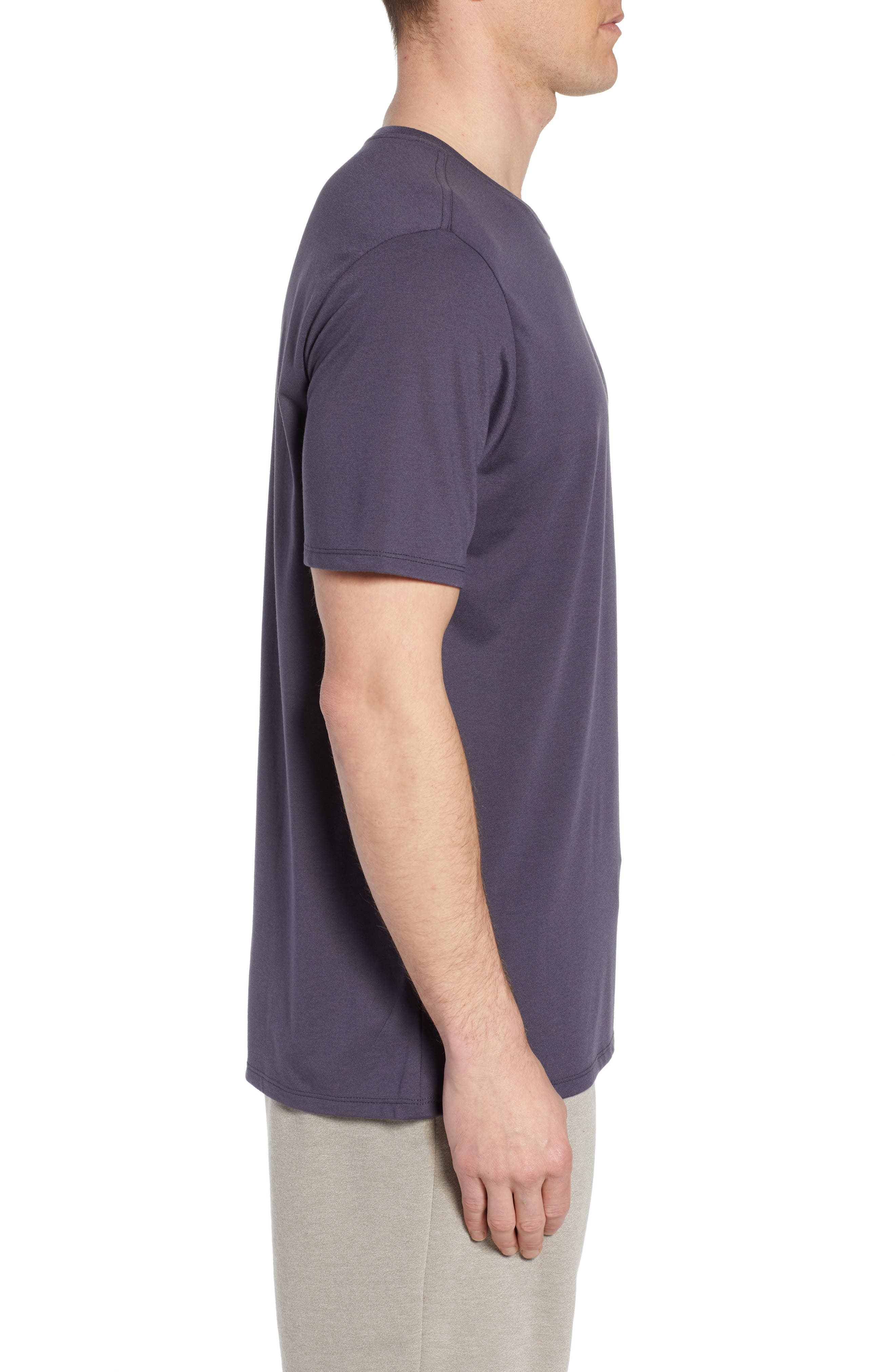 Dry Running Division T-Shirt,                             Alternate thumbnail 3, color,                             GRIDIRON/ GUNSMOKE